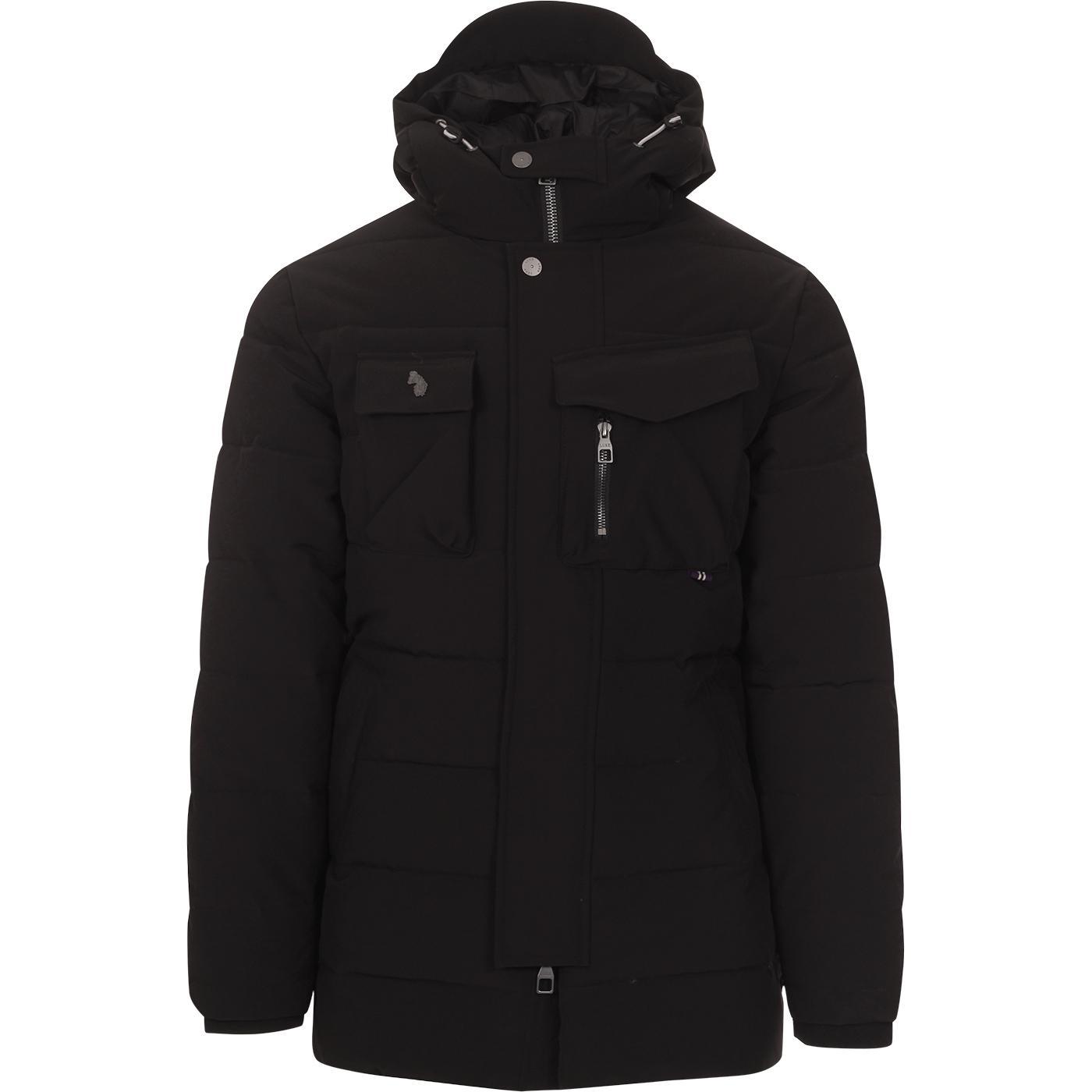 Utilitarian LUKE Men's Retro Padded Parka Jacket