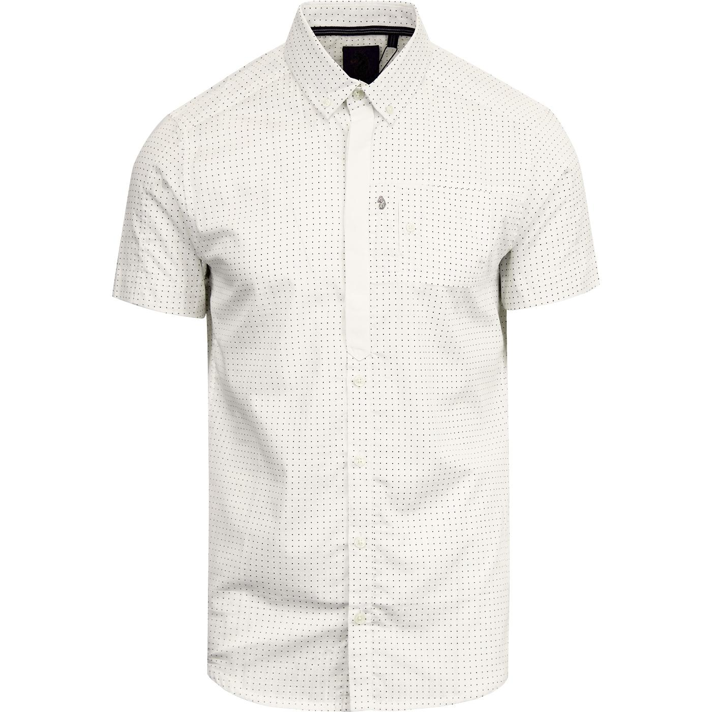 Wockneys Pencil 2 LUKE Slim Fit Polka Dot Shirt C