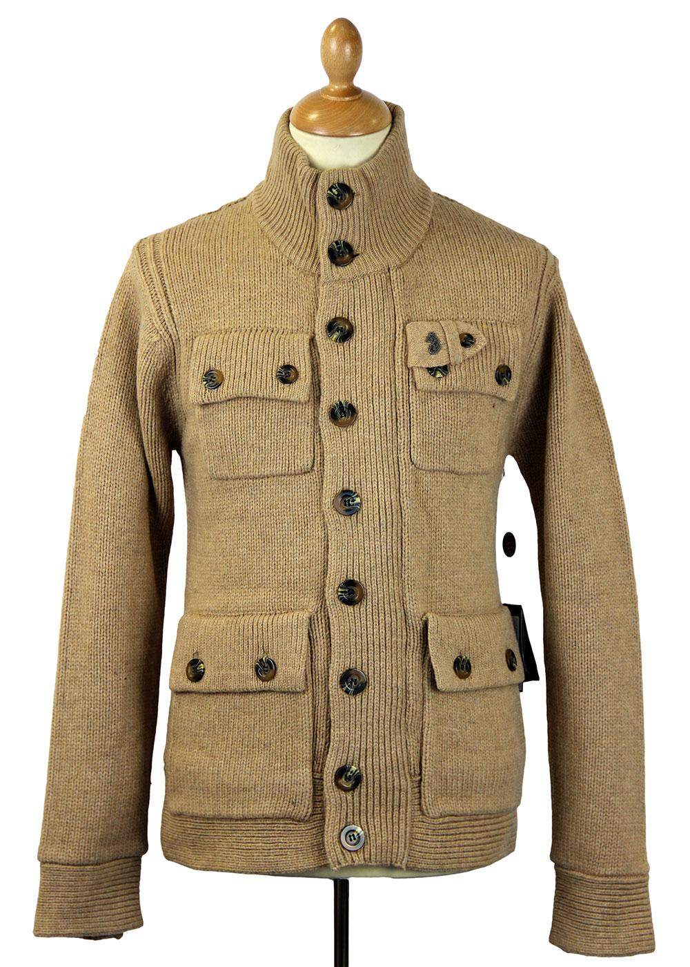 DoggyBarlows LUKE 1977 Retro Knit Cardigan Jacket