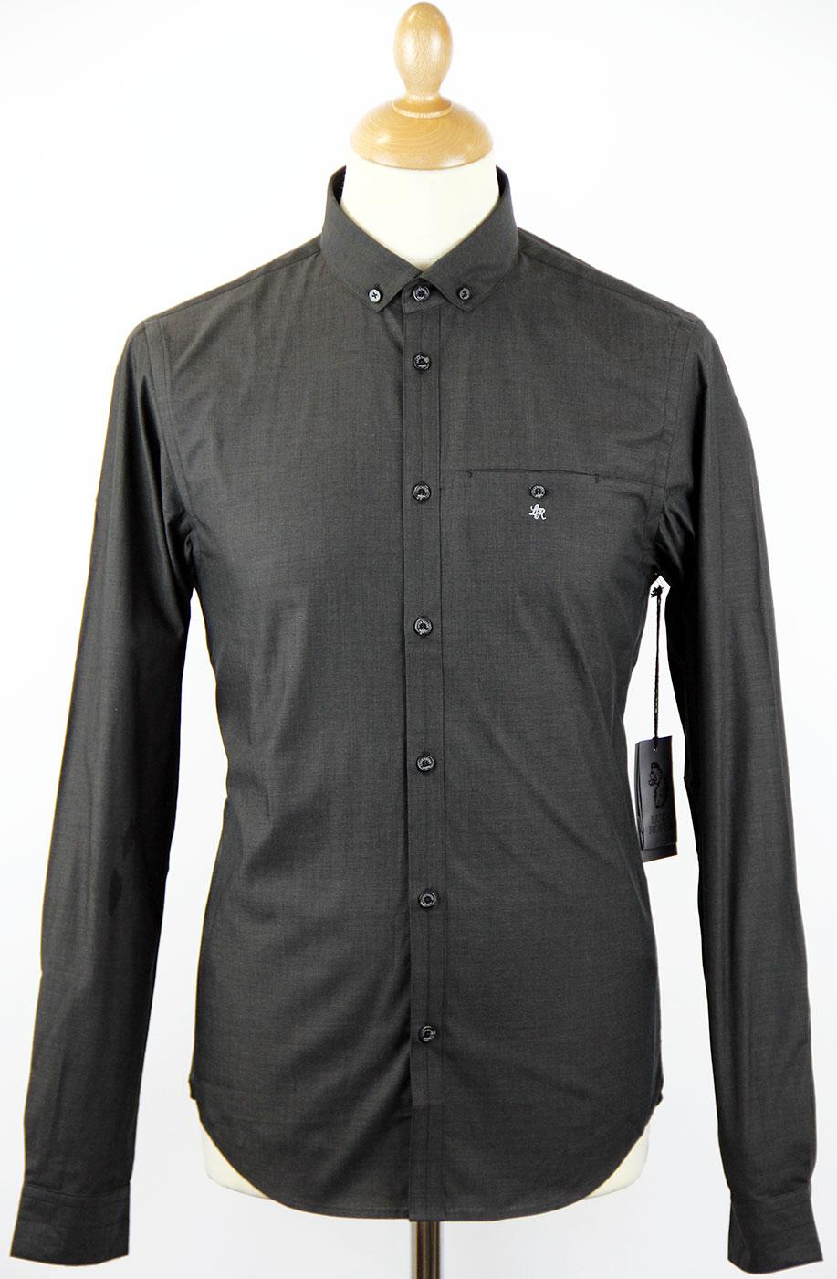 Amersham LUKE ROPER Mod Button Down Dress Shirt B