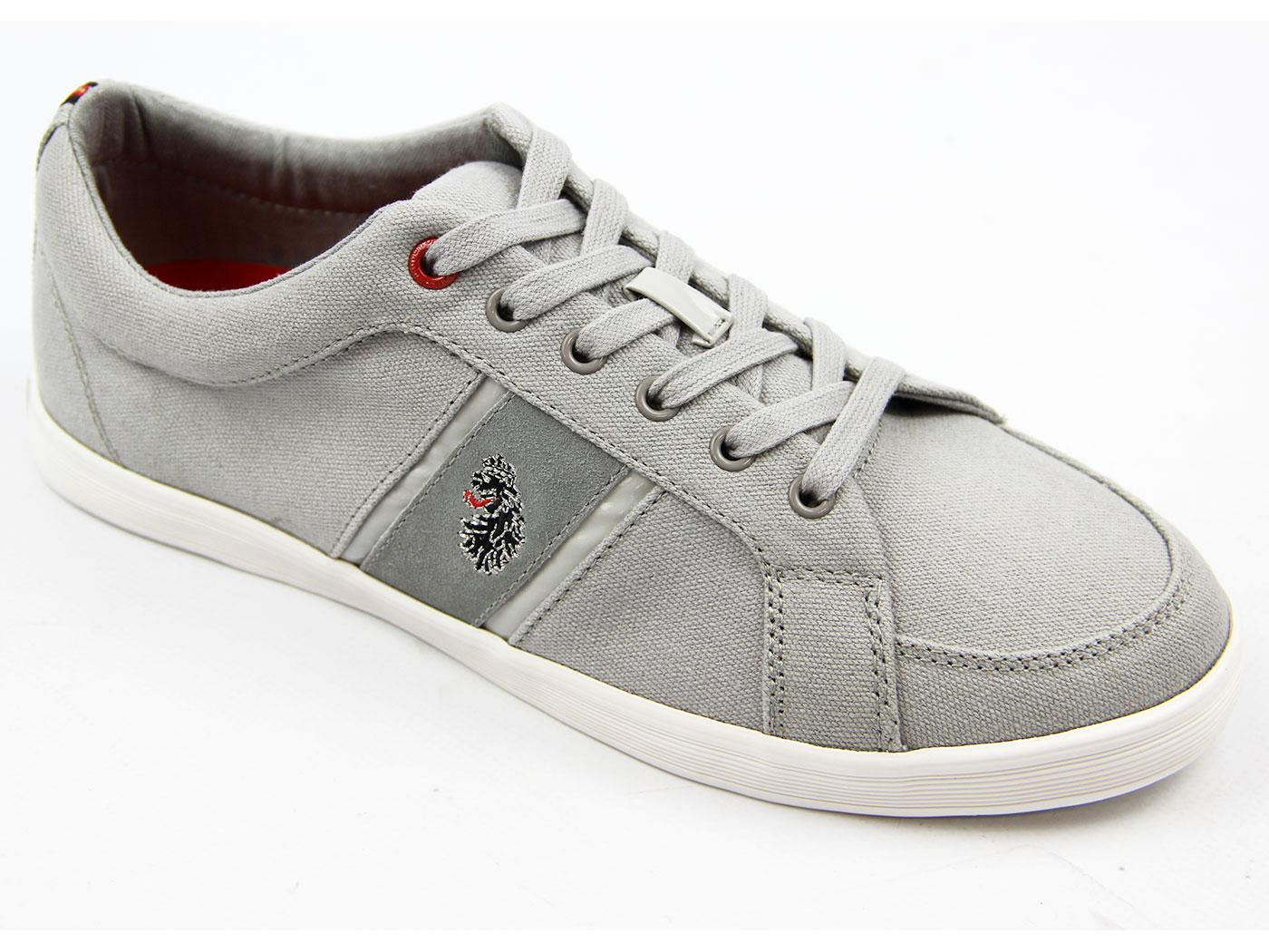Dewey LUKE 1977 Retro Lace Indie Canvas Trainers G