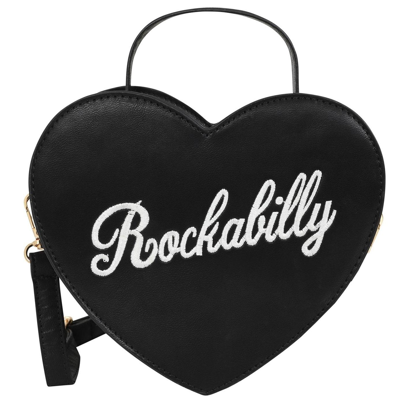 Bina LULU HUN Retro 50s Rockabilly Heart-Shape Bag