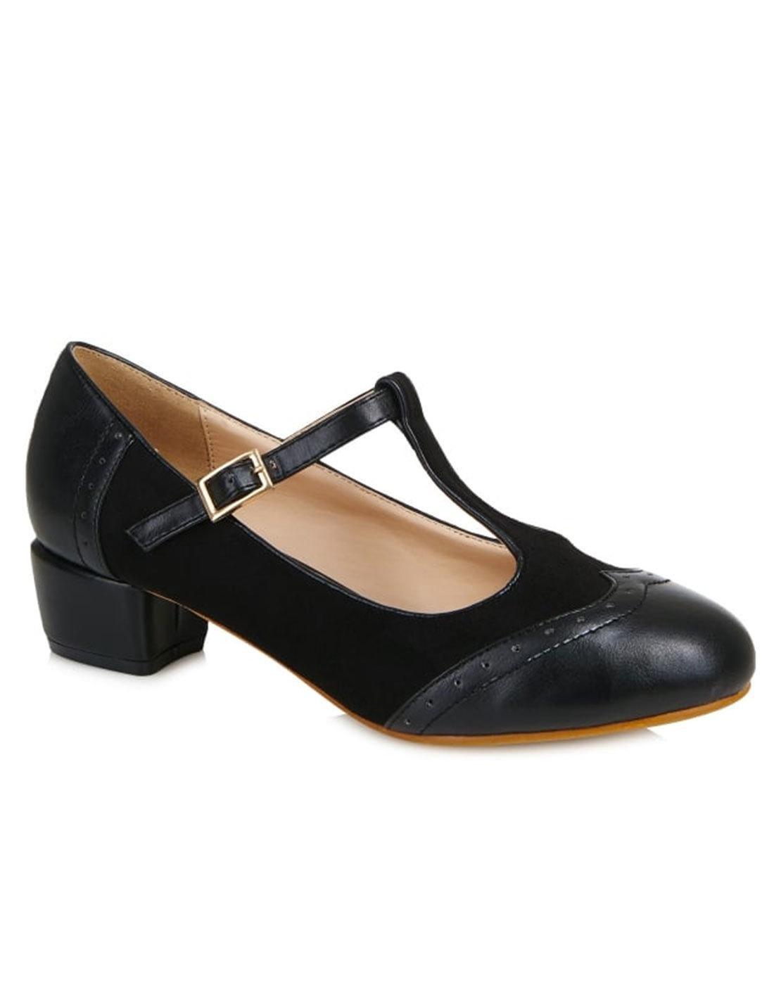 long black 60s dress shoes