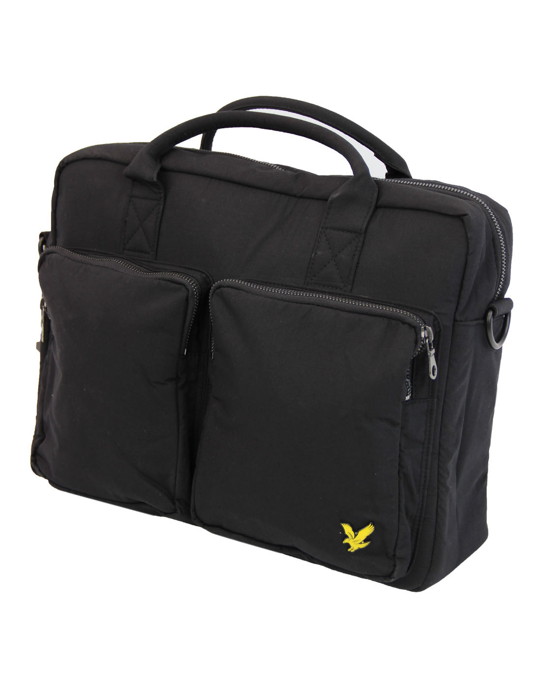 2 Pocket LYLE AND SCOTT Shoulder Bag Black