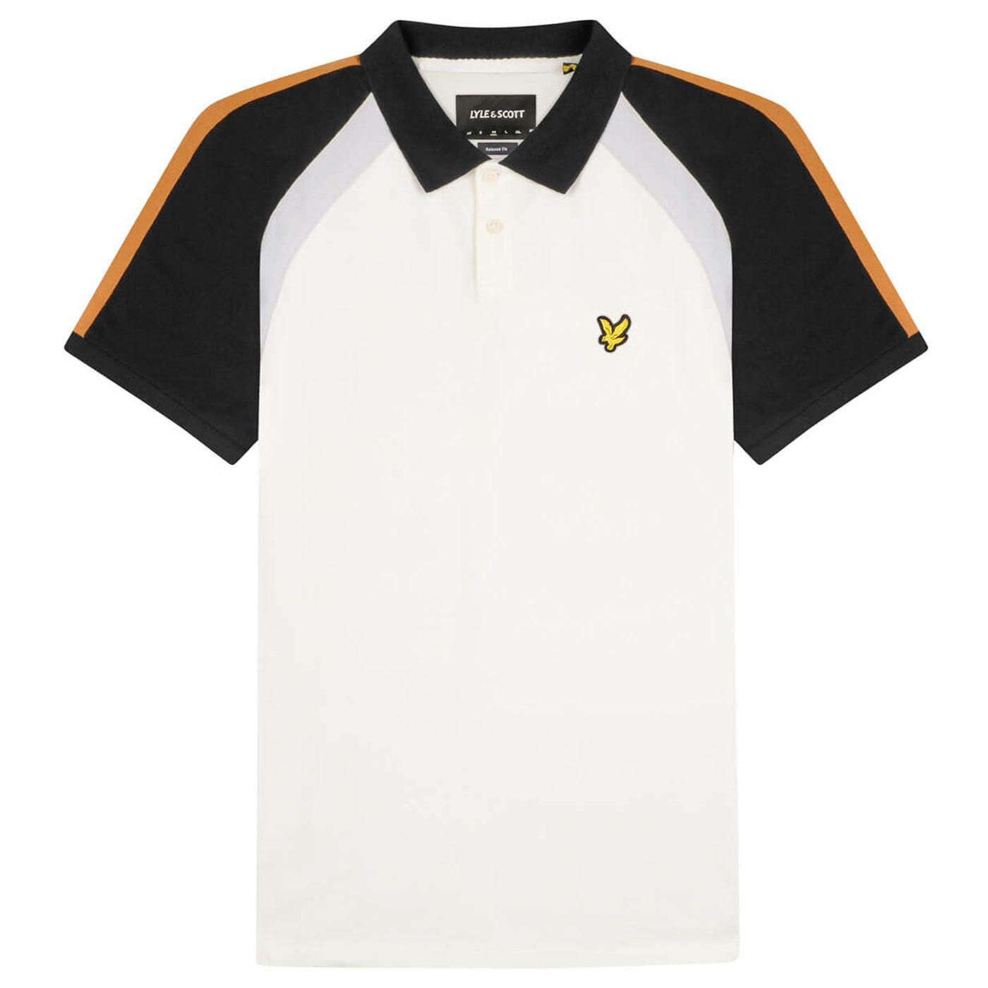 LYLE & SCOTT Men's Retro Mod 3 Panel Polo Shirt