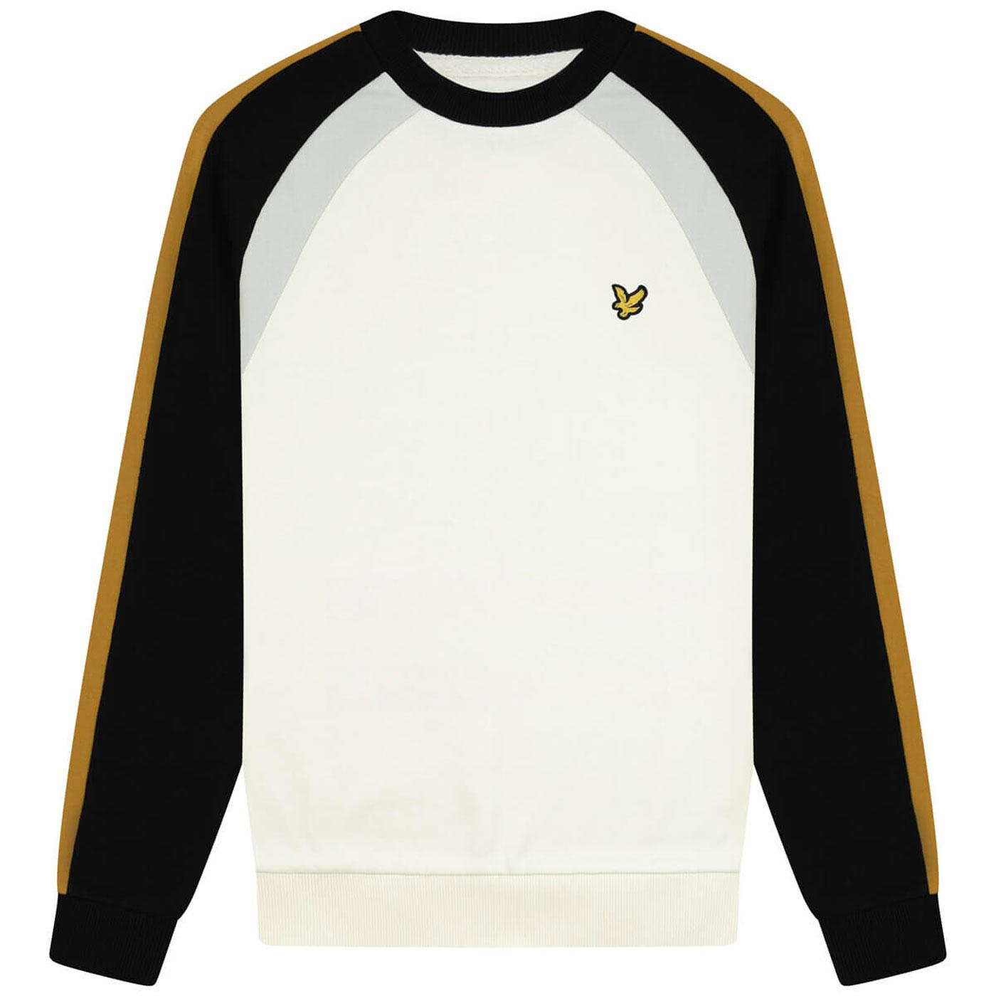 LYLE & SCOTT Retro 70s Vintage Sports Sweatshirt