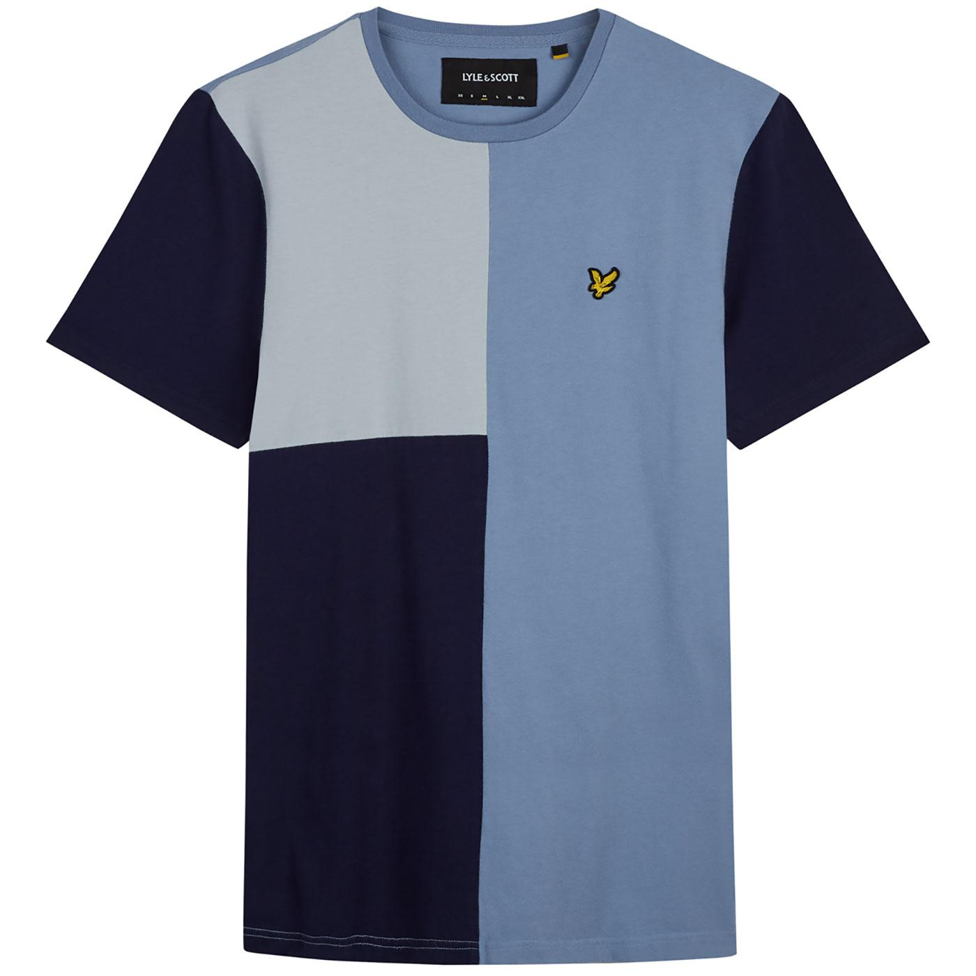 LYLE & SCOTT Men's Retro Colour Block T-shirt (SB)