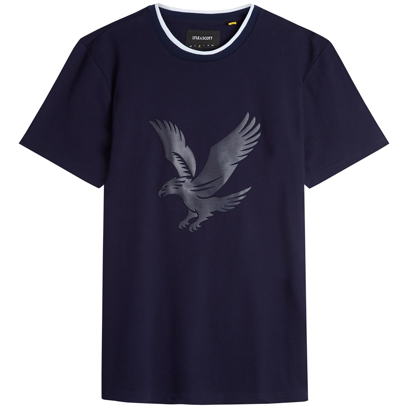 LYLE & SCOTT Casuals Eagle Logo Pique Tee (Navy)