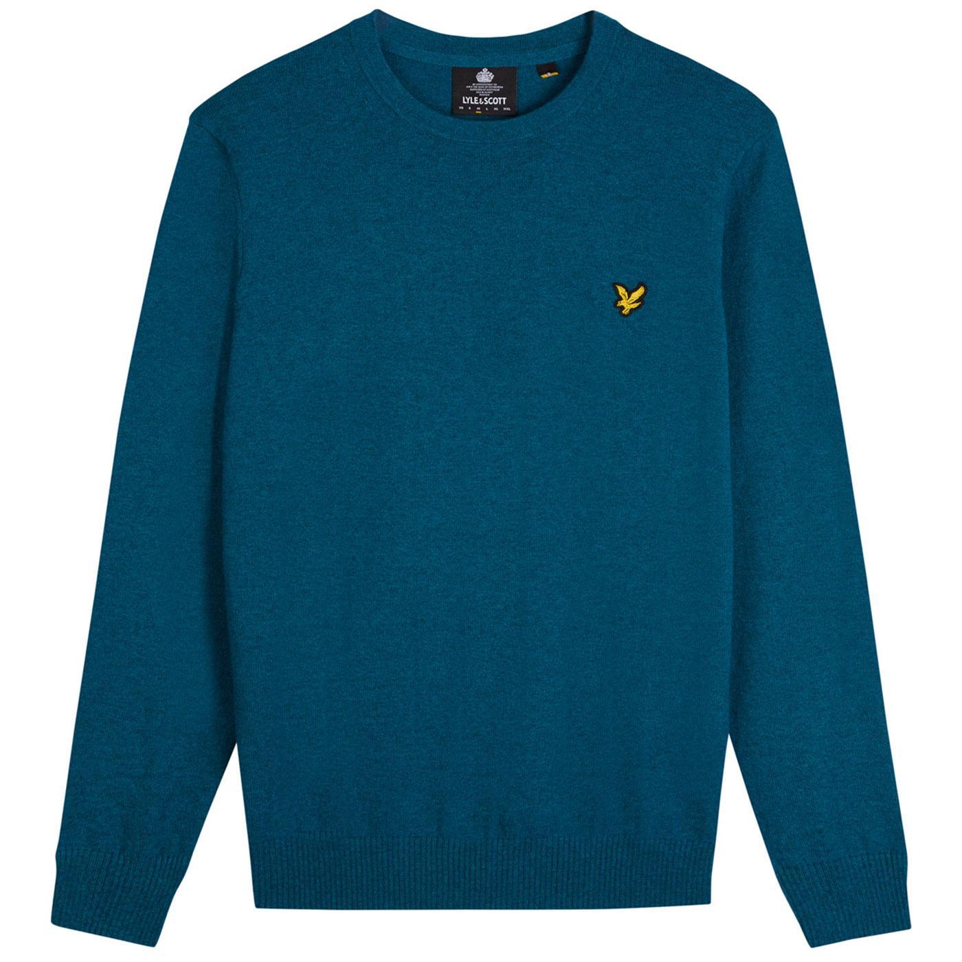 LYLE AND SCOTT Retro Merino Wool Knitted Jumper PT