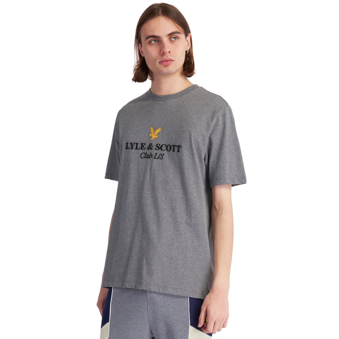 LYLE & SCOTT Embroidered Club LS Archive Logo Tee