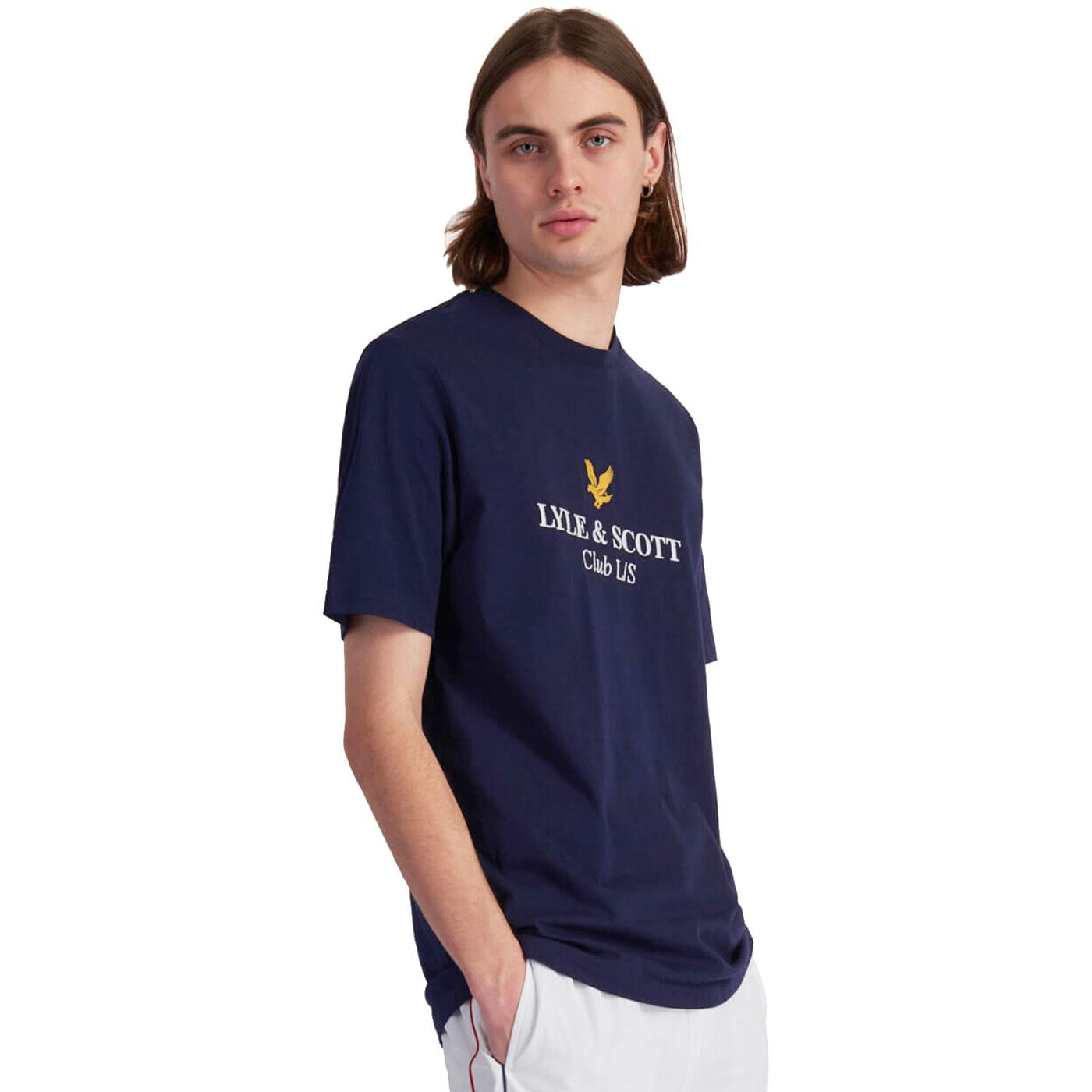 LYLE & SCOTT Embroidered Club Archive Logo Tee N