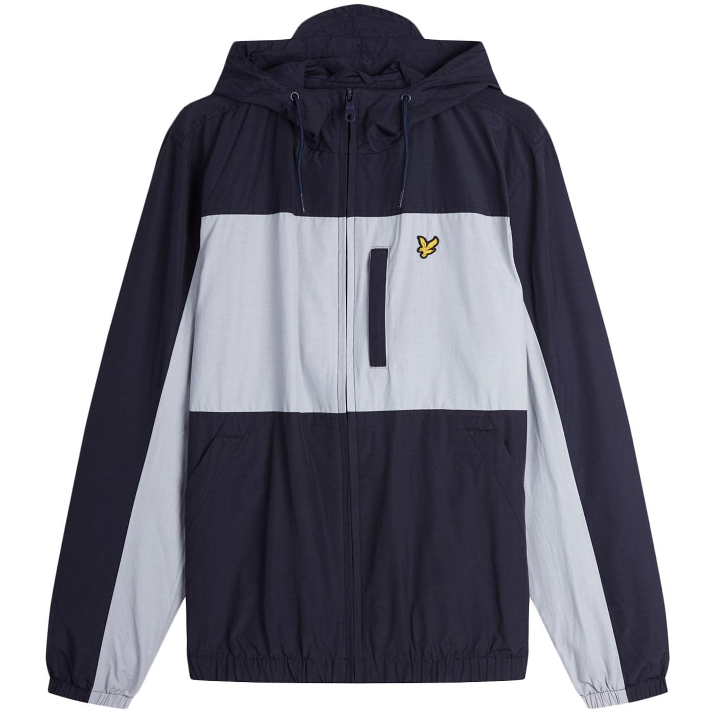 LYLE AND SCOTT Retro Colour Block Hooded Jacket DN