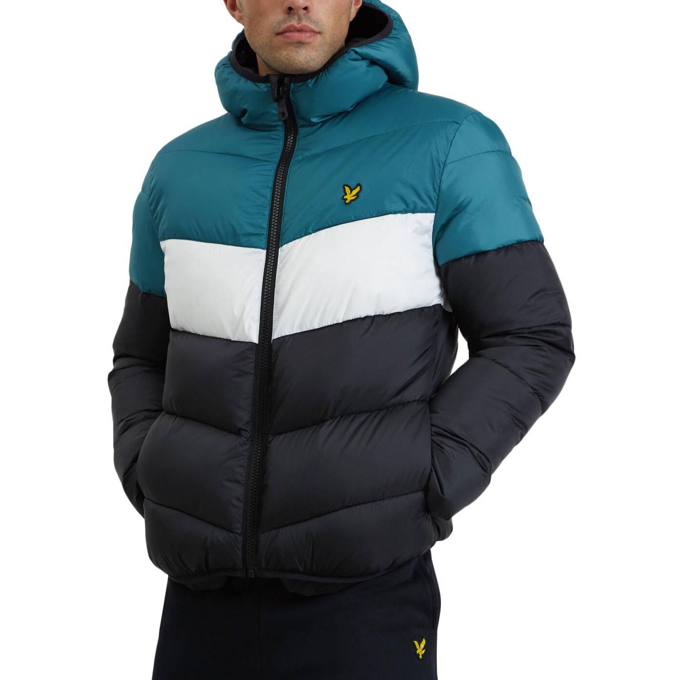 LYLE & SCOTT Retro Colour Block Puffa Jacket (TB)