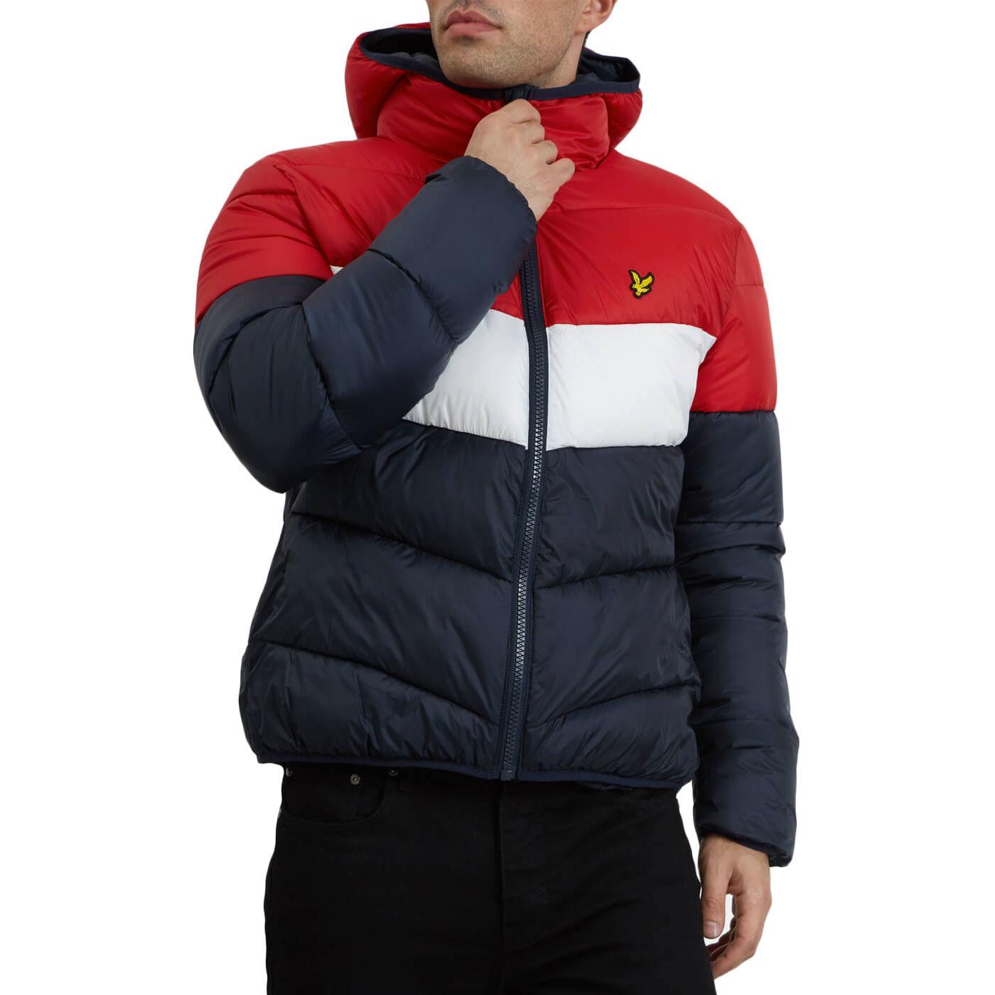 LYLE & SCOTT Retro Colour Block Puffa Jacket (DN)