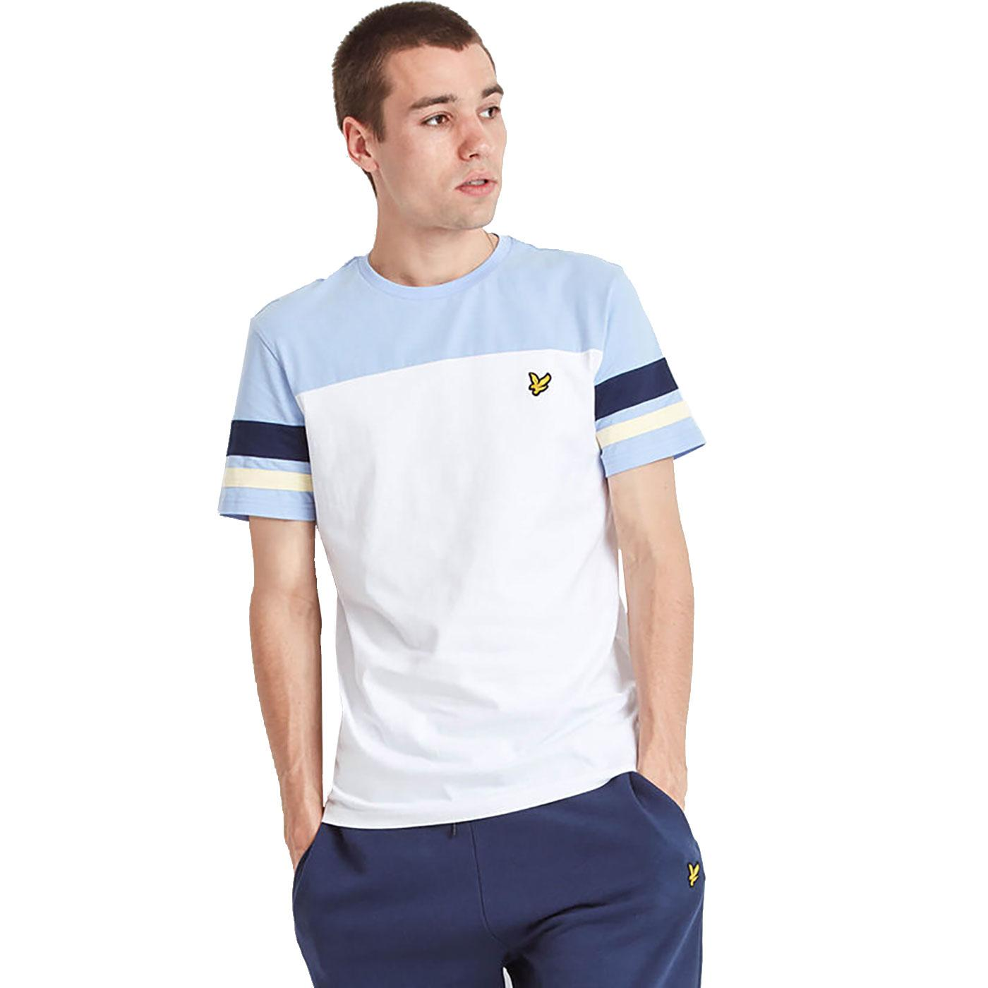 LYLE & SCOTT Men's Contrast Sleeve Band T-Shirt