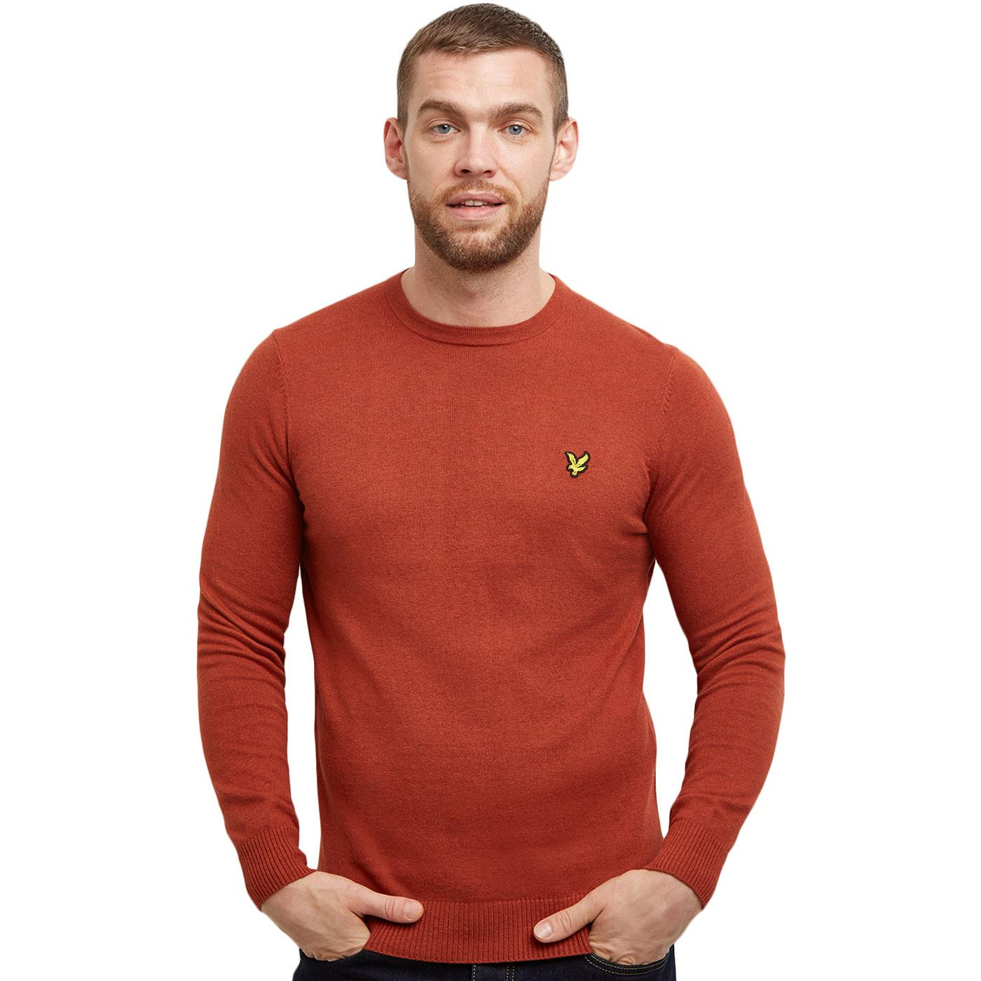 LYLE AND SCOTT Retro Merino Wool Knitted Jumper T