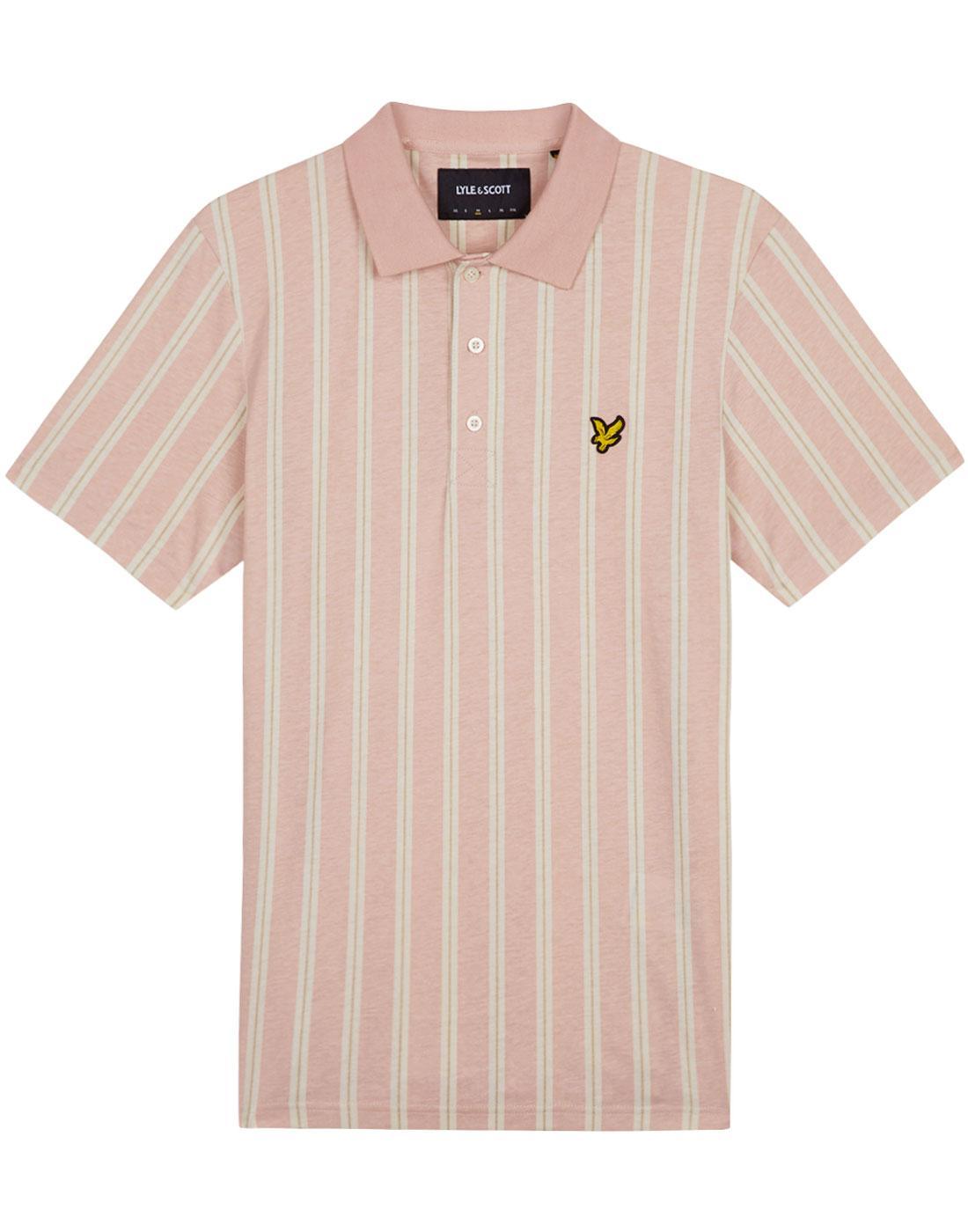 LYLE & SCOTT Mod Deckchair Stripe Polo Shirt (DP)