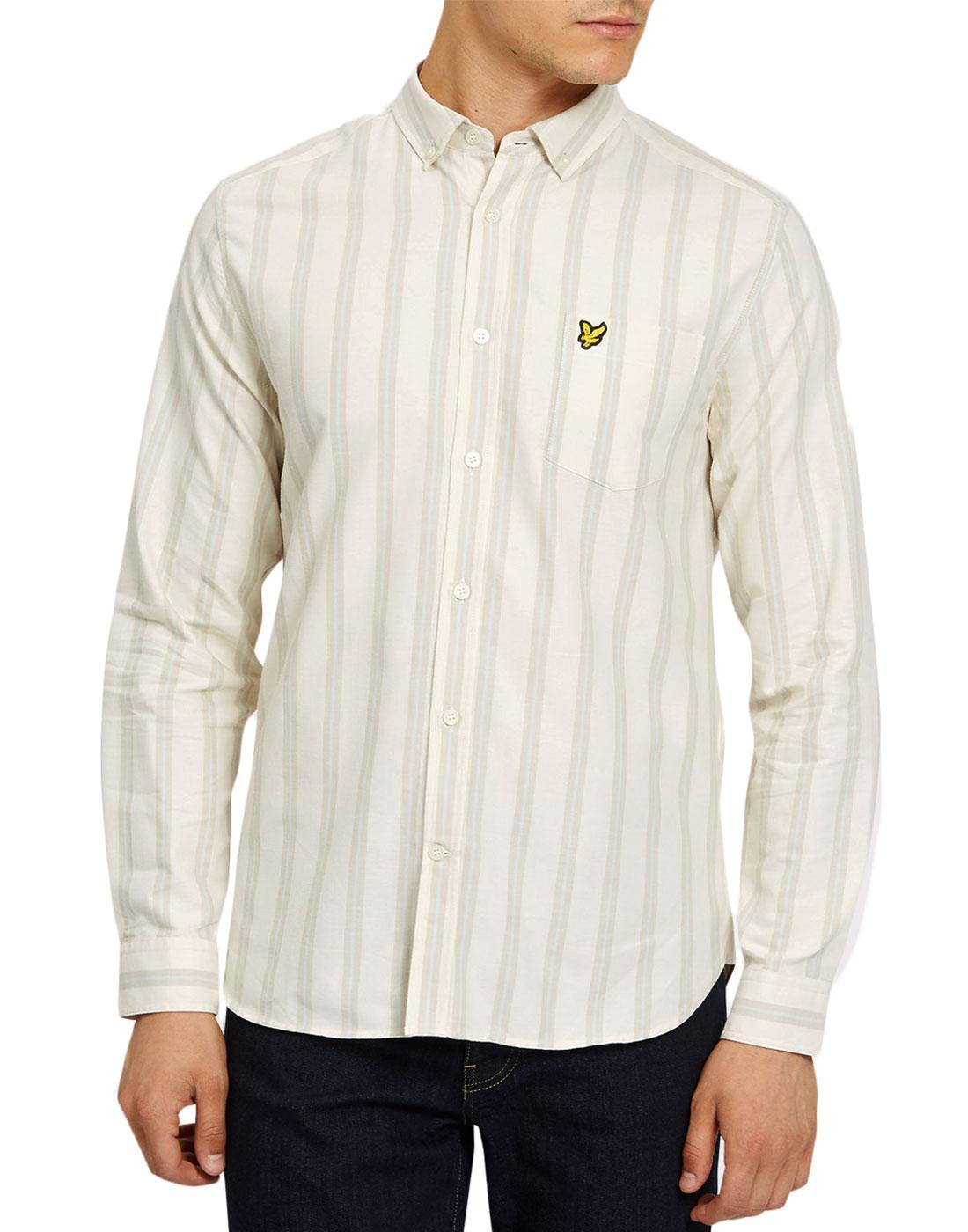 LYLE & SCOTT 60s Mod Deckchair Stripe Oxford Shirt