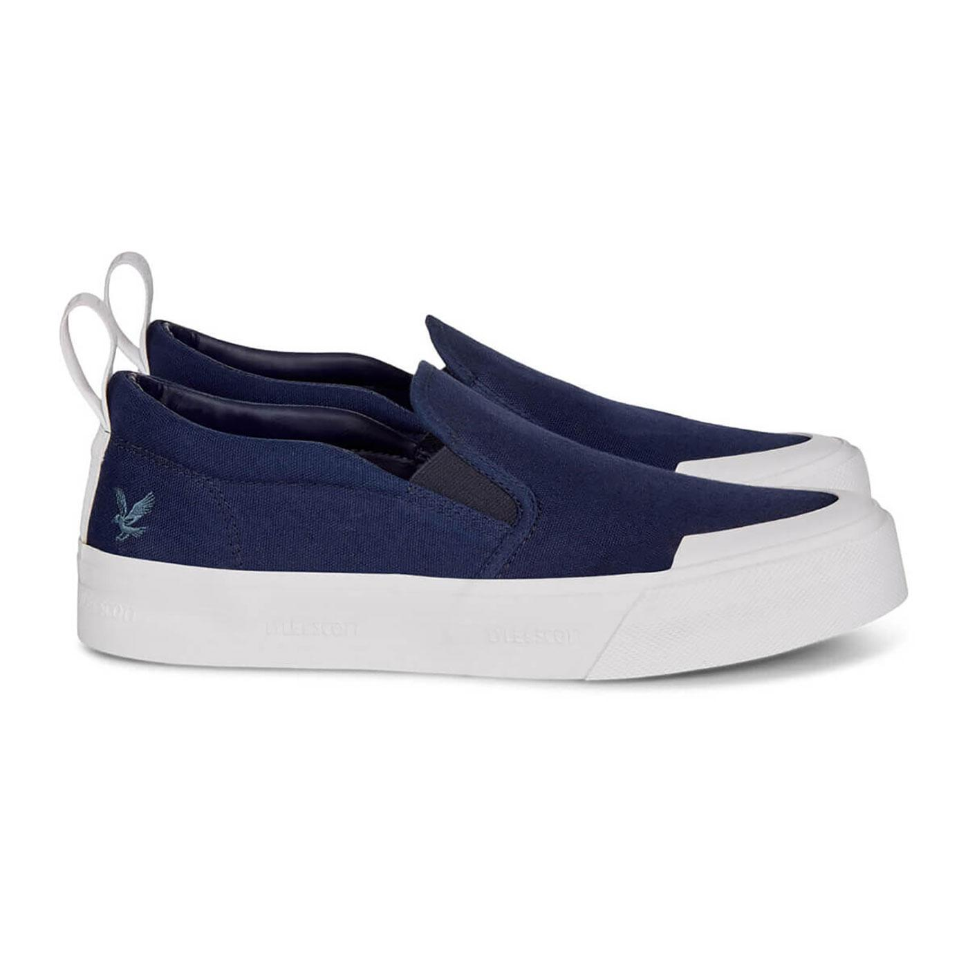 Duncan LYLE & SCOTT Canvas Slip-On Sports Shoes	N