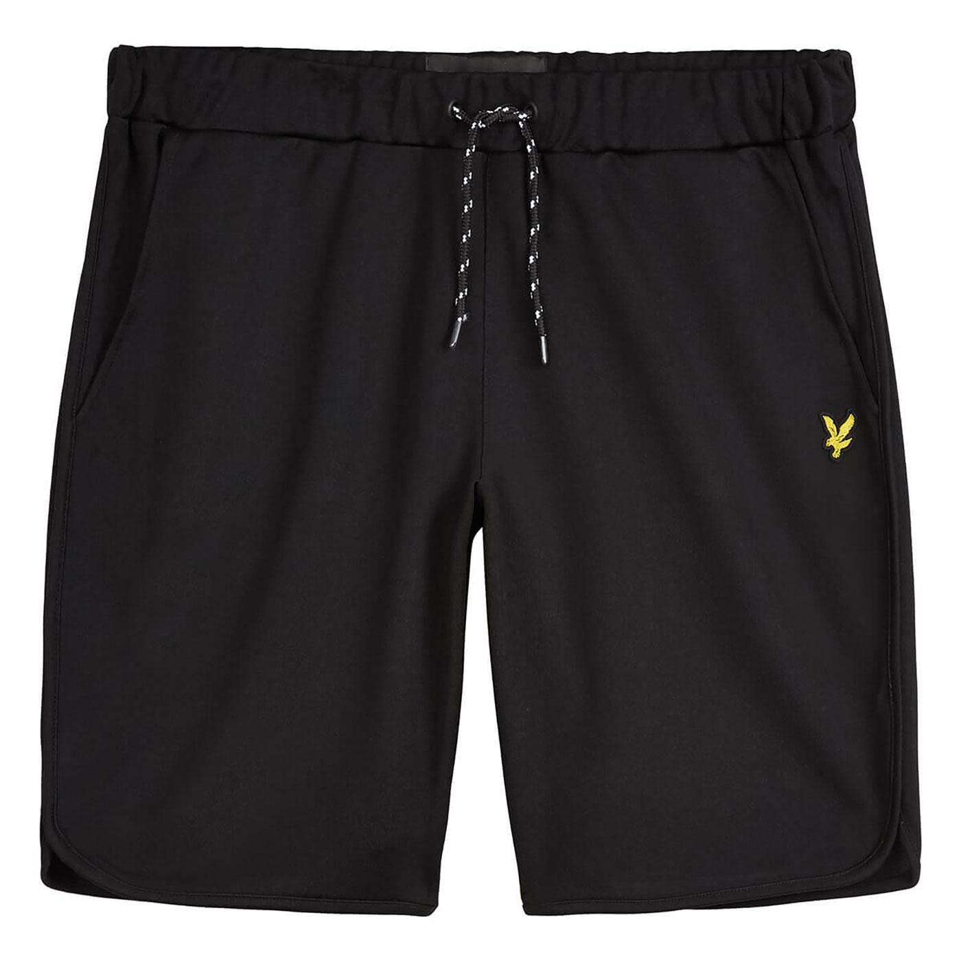 LYLE & SCOTT Men's Retro Football Shorts - Black