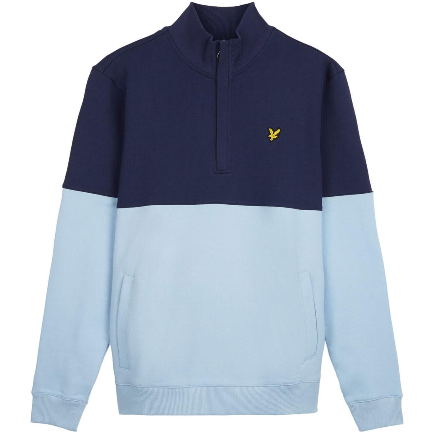 LYLE & SCOTT Men's Retro Split Funnel Neck Sweater
