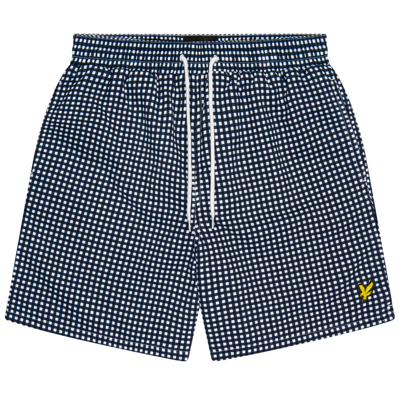 LYLE & SCOTT Men's Gingham Swim Shorts (DN)