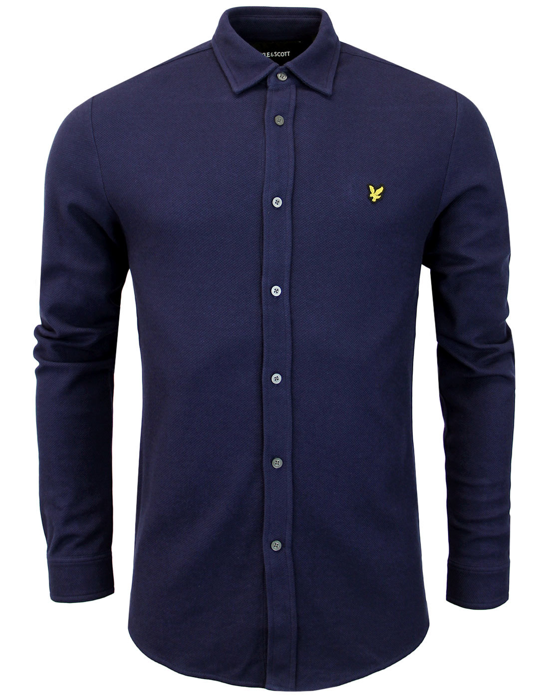 LYLE & SCOTT Men's Mod Honeycomb Jersey Shirt (N)