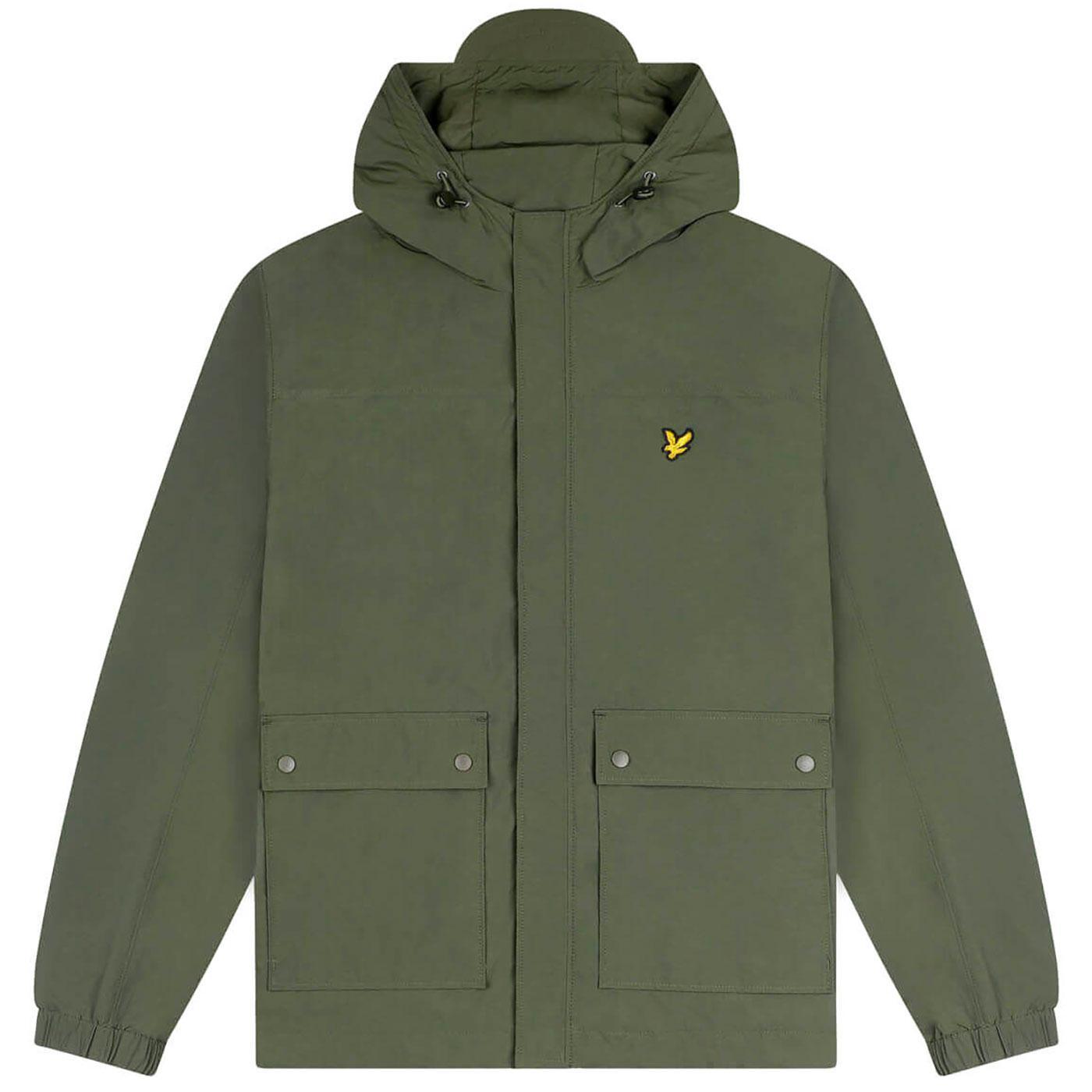 LYLE & SCOTT Men's Retro Hooded Anorak Jacket TG