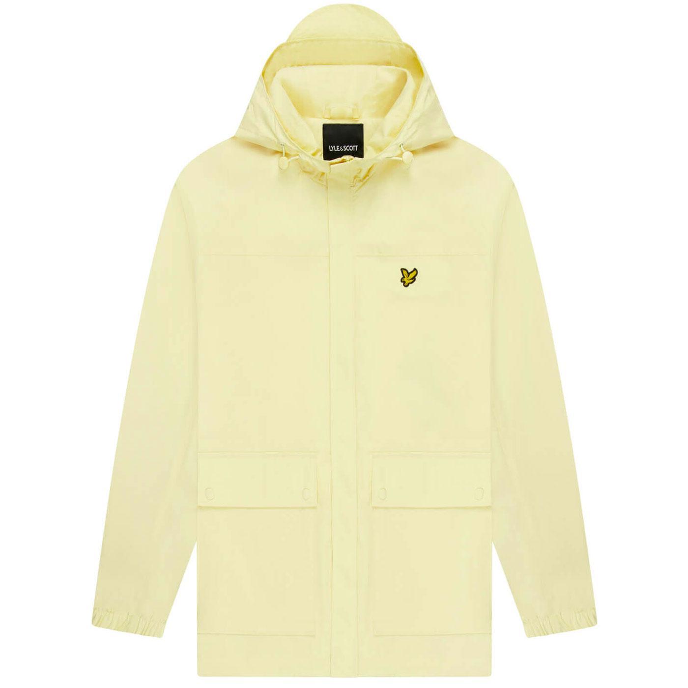 LYLE & SCOTT Retro Hooded Pocket Jacket (Lemon)