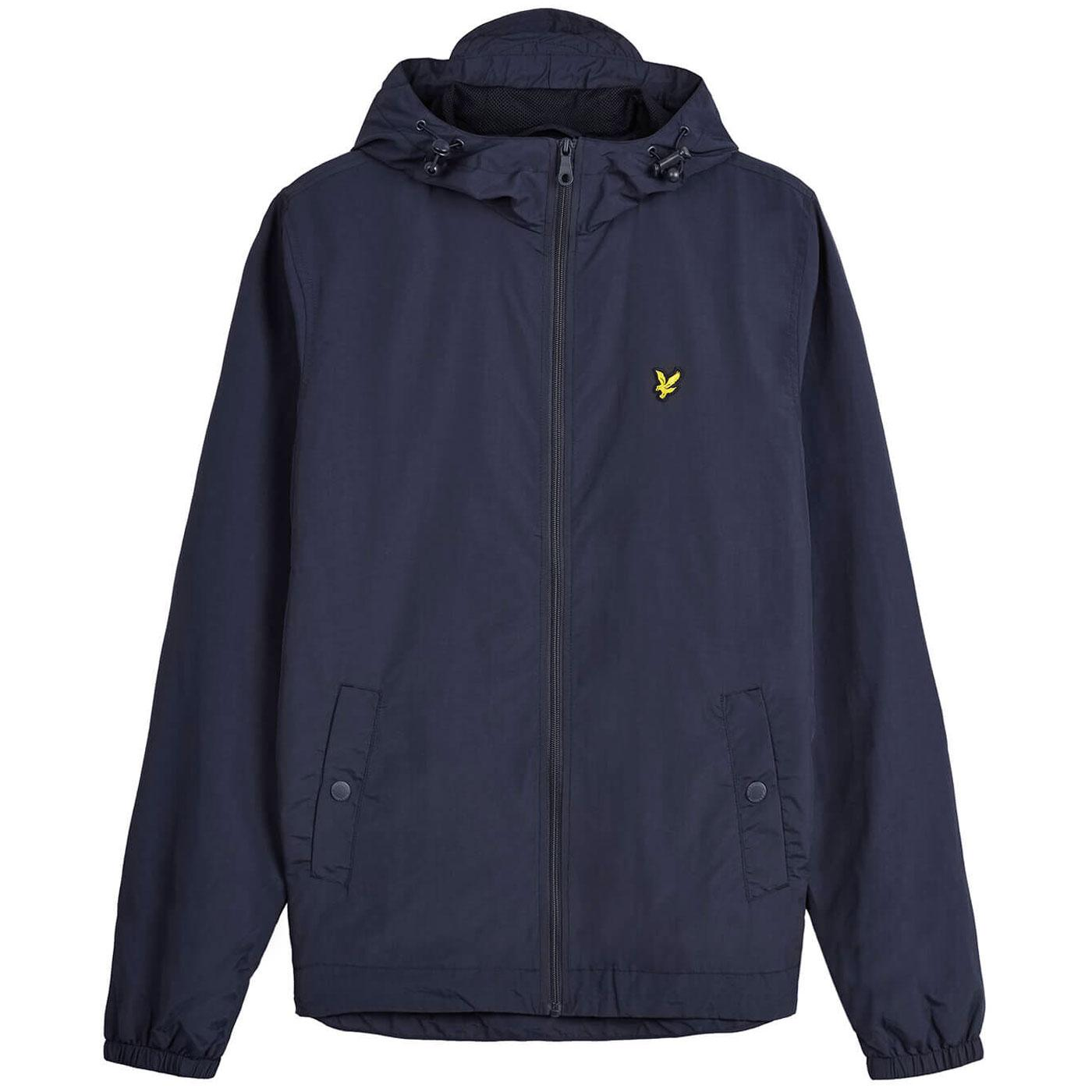 LYLE AND SCOTT Retro 90s Casual Hooded Jacket (N)