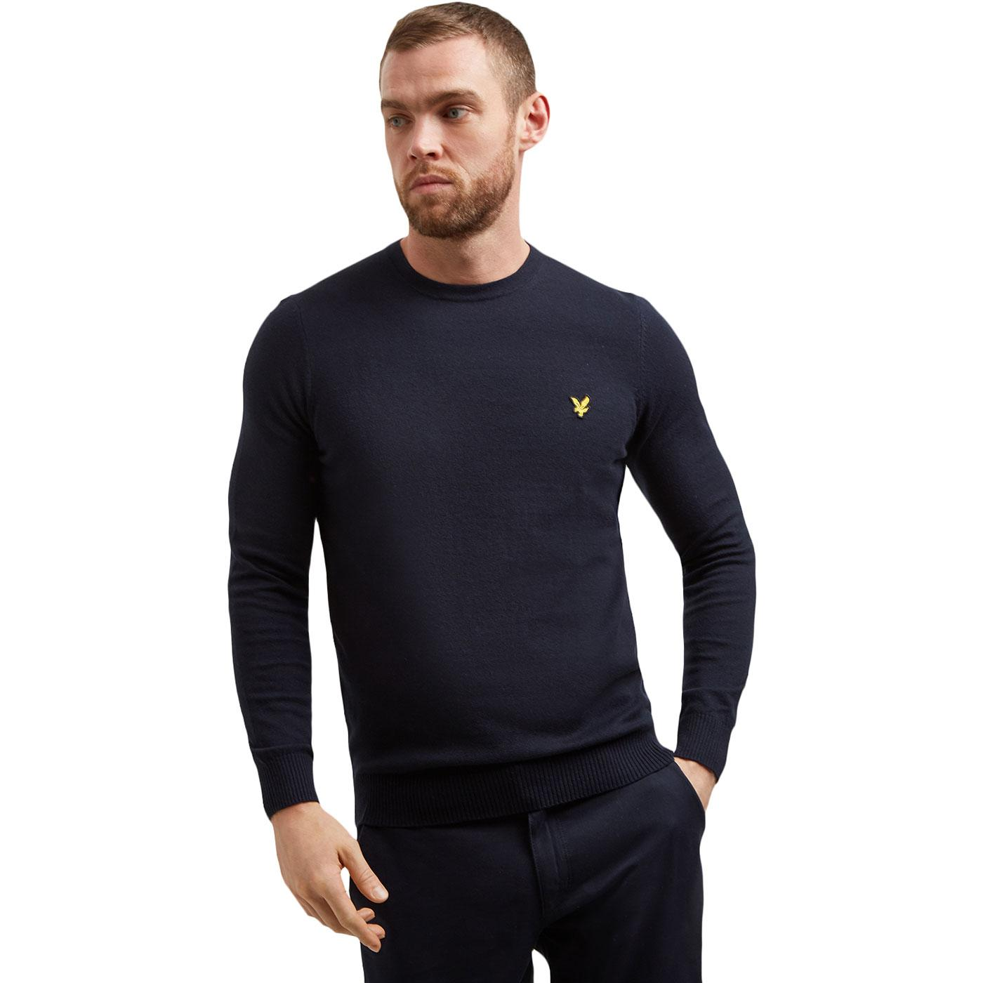 LYLE AND SCOTT Retro Merino Wool Knitted Jumper DN