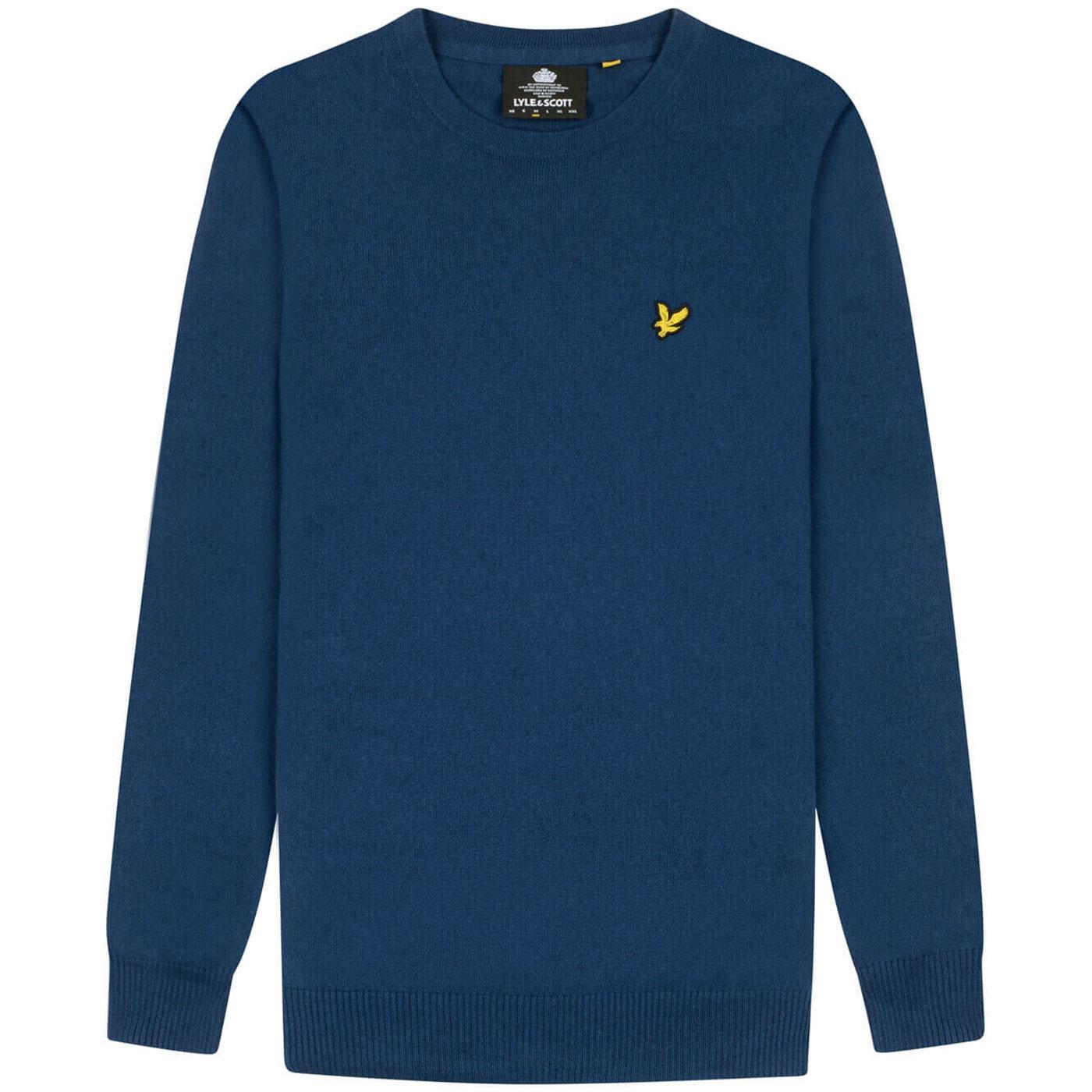 LYLE & SCOTT Cotton/Merino Crew neck Sweater I
