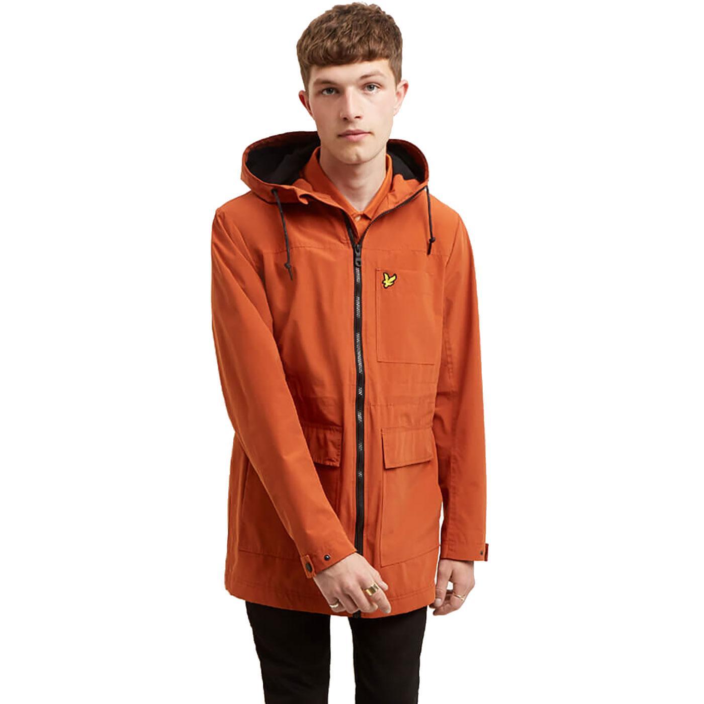 LYLE & SCOTT Mod Microfleece Lined Hooded Jacket