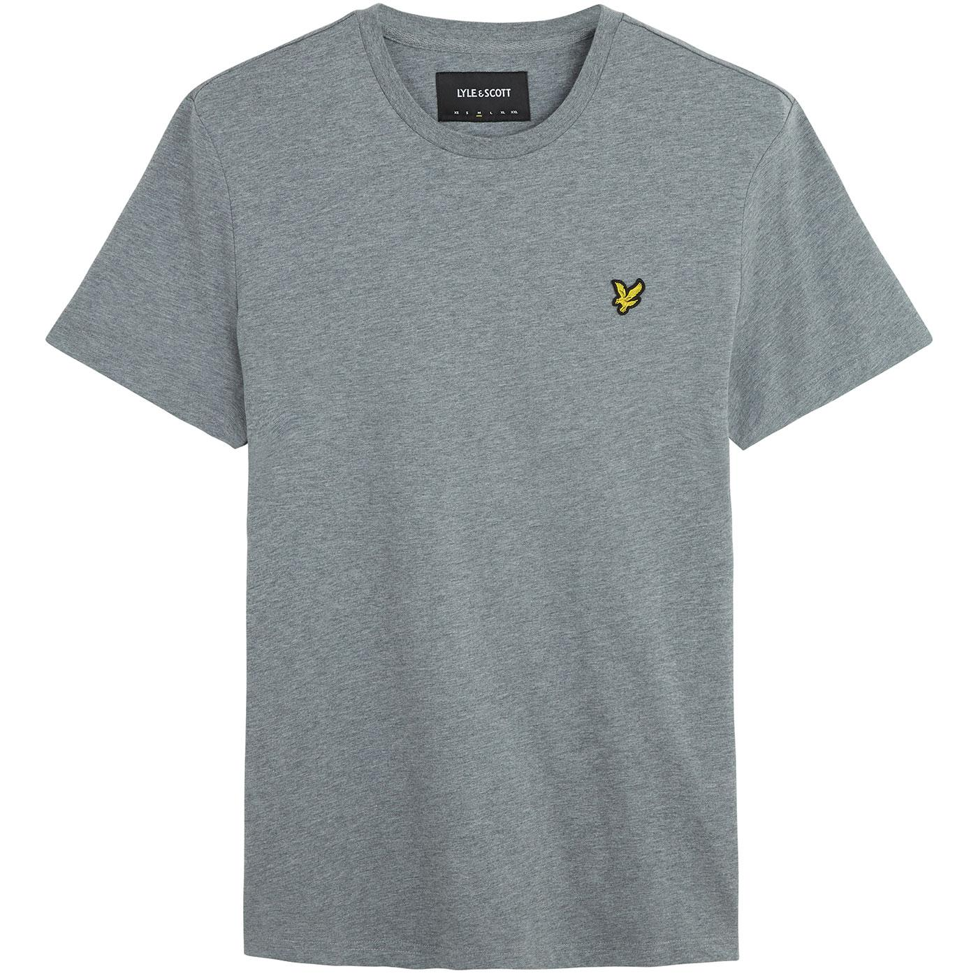 LYLE & SCOTT Men's Crew Neck T-Shirt (Mid Grey)