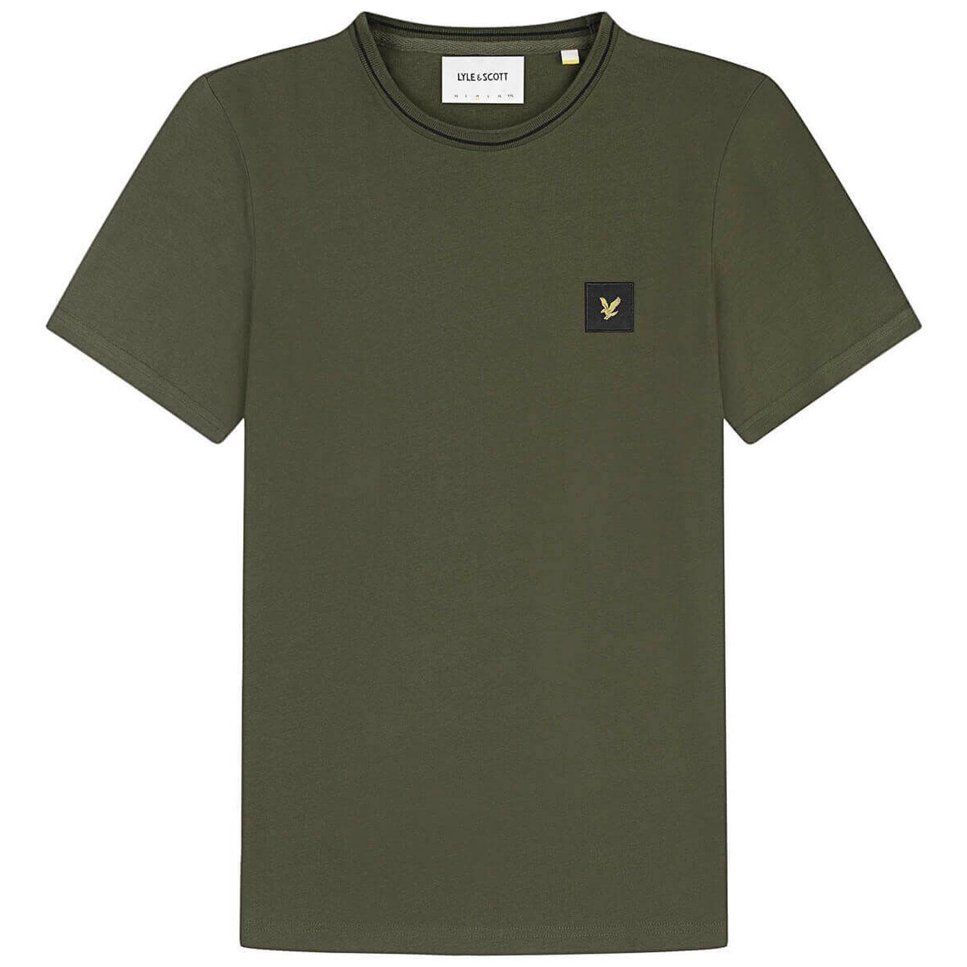 LYLE & SCOTT Mod Casuals Retro Tipped T-Shirt G