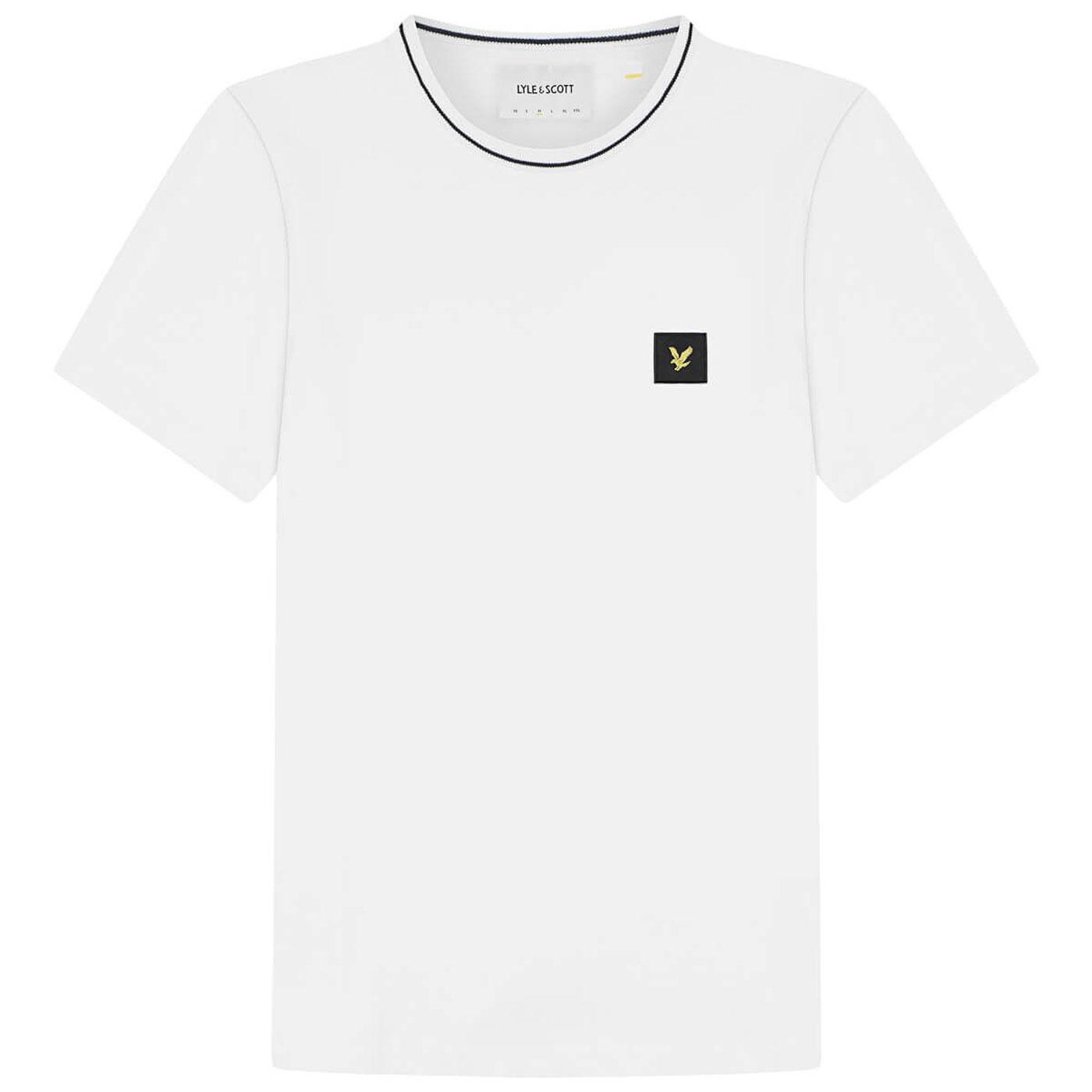 LYLE & SCOTT Mod Casuals Retro Tipped T-Shirt W