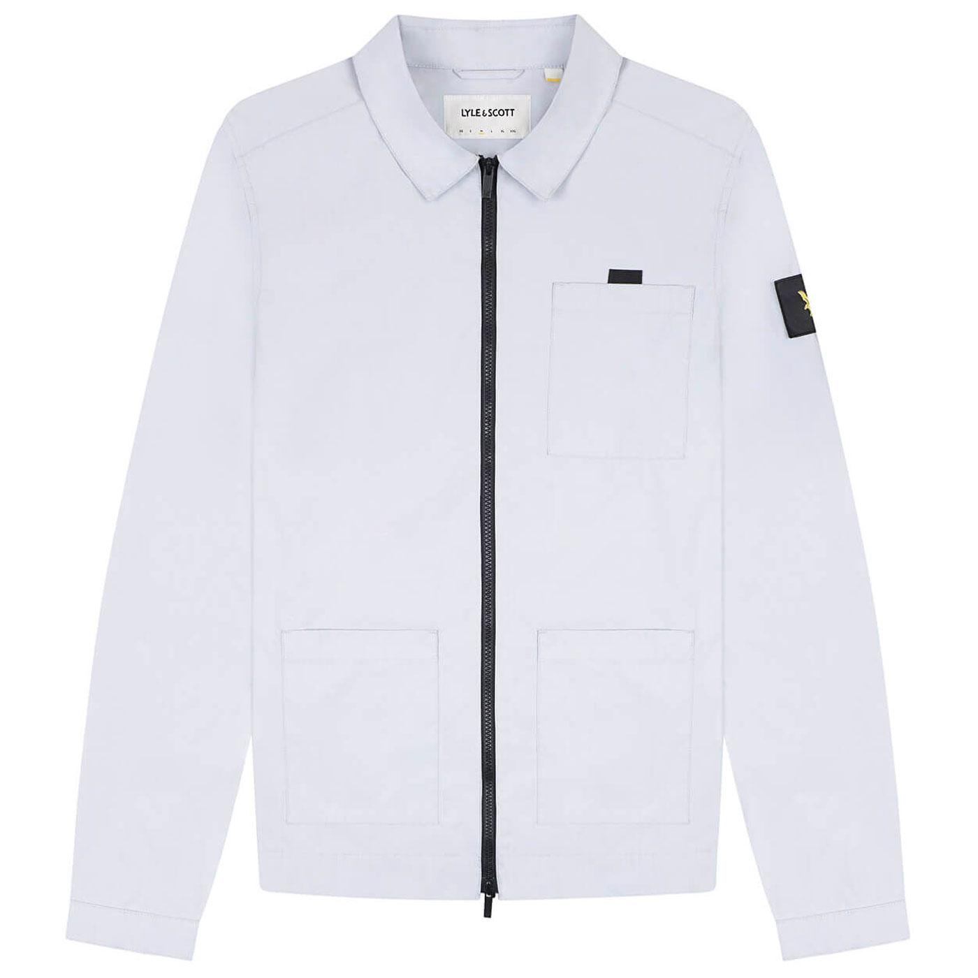 LYLE & Scott Mod Casuals Ripstop Nylon Overshirt