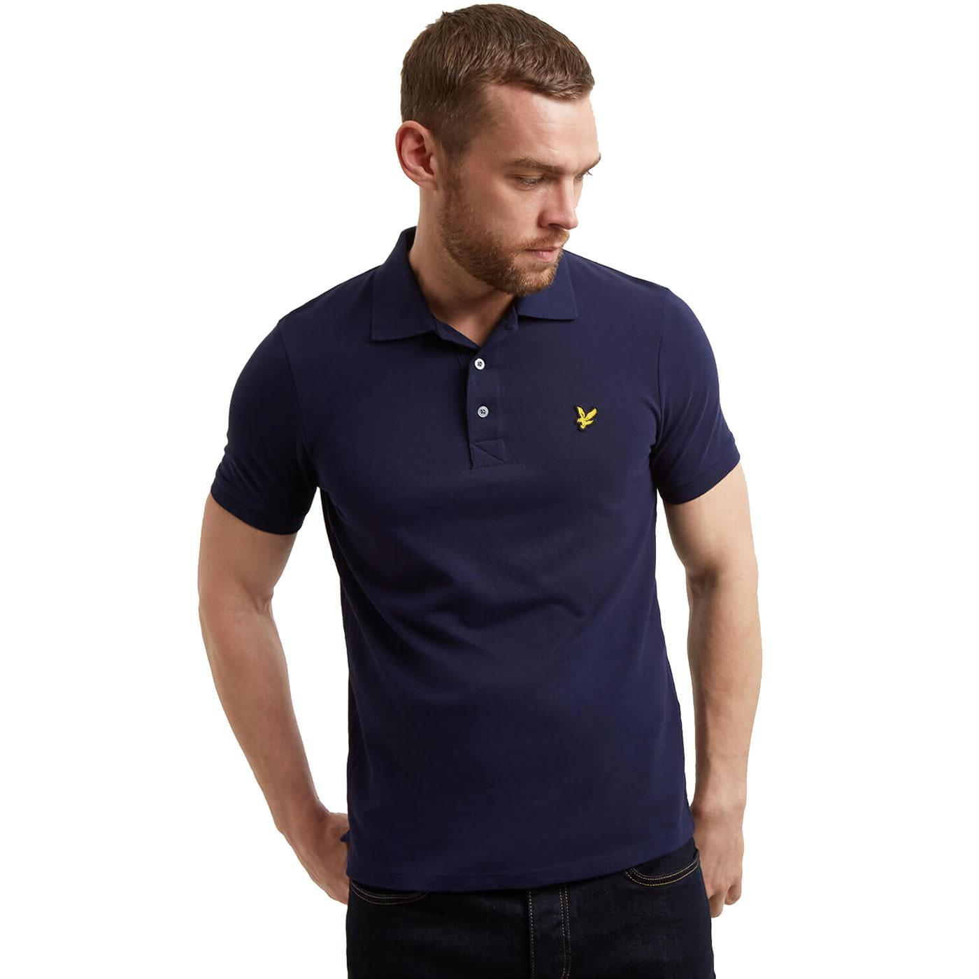 LYLE & SCOTT Mod Classic Pique Polo Shirt NAVY