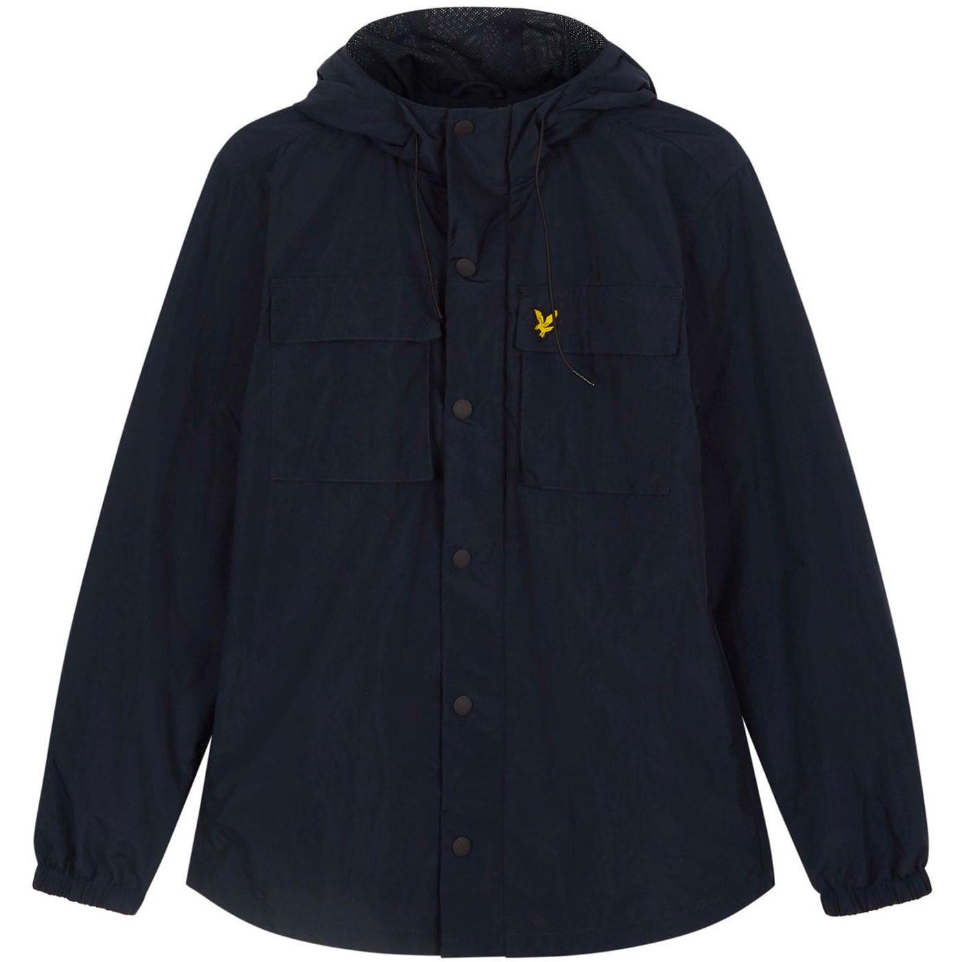 LYLE & SCOTT Retro Hooded Pocket Terrace Jacket N