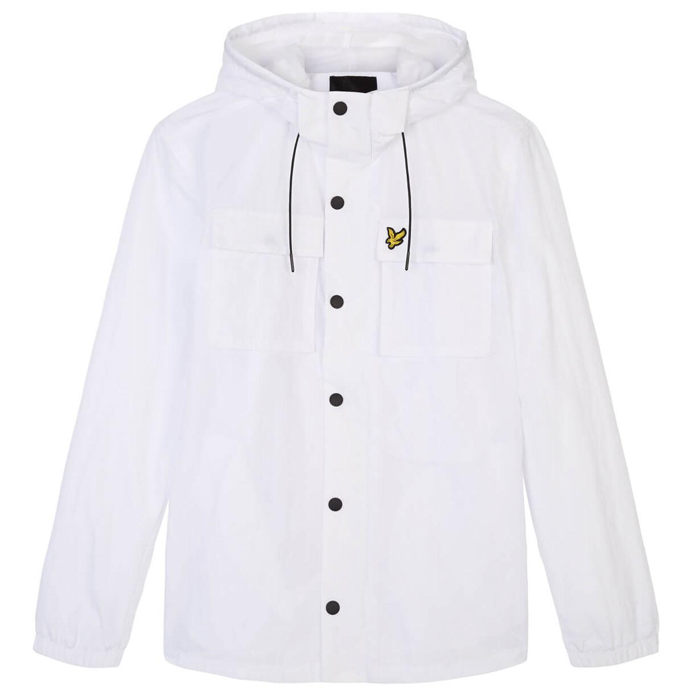 LYLE & SCOTT Mens Casual Hooded Pocket Jacket