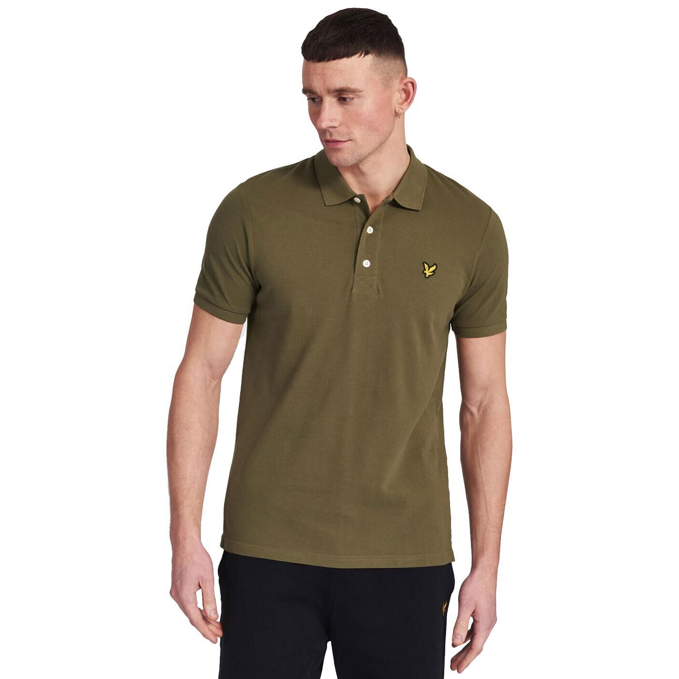 LYLE & SCOTT Men's Mod Classic Pique Polo Shirt LG