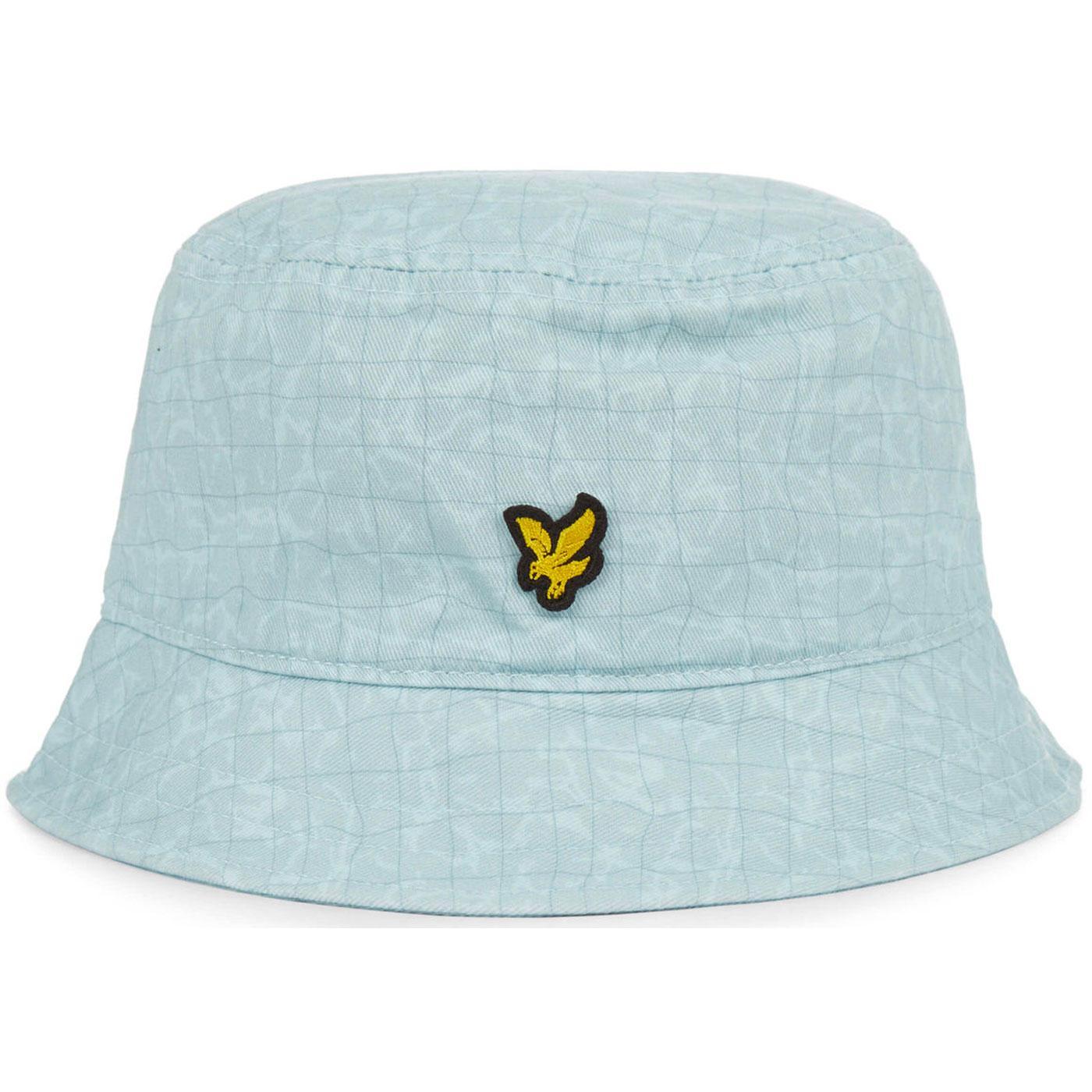 LYLE & SCOTT Retro 90s Pool Print Bucket Hat (BS)