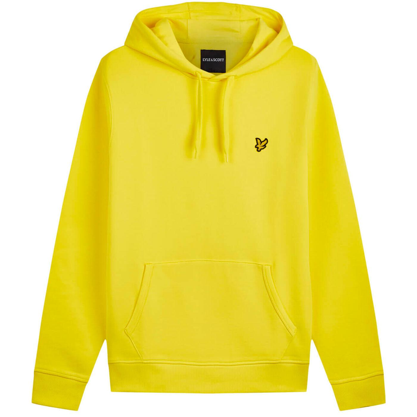 LYLE & SCOTT 90s Indie Pullover Hoodie (Buttercup)