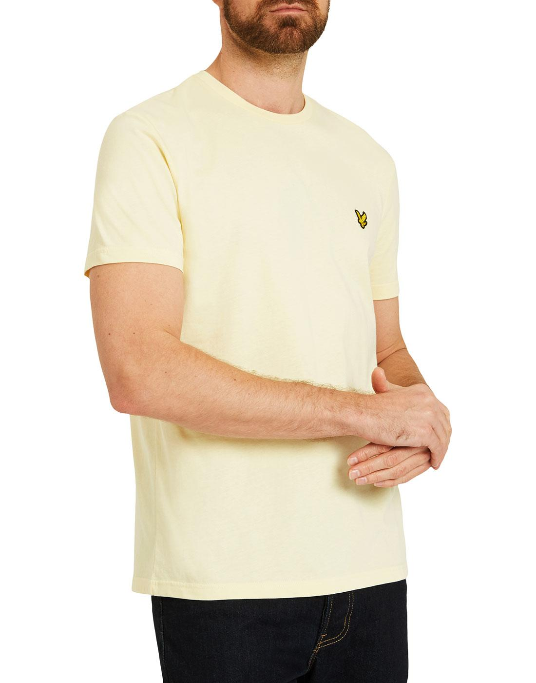 LYLE & SCOTT Men's Crew Neck T-Shirt (Buttercream)