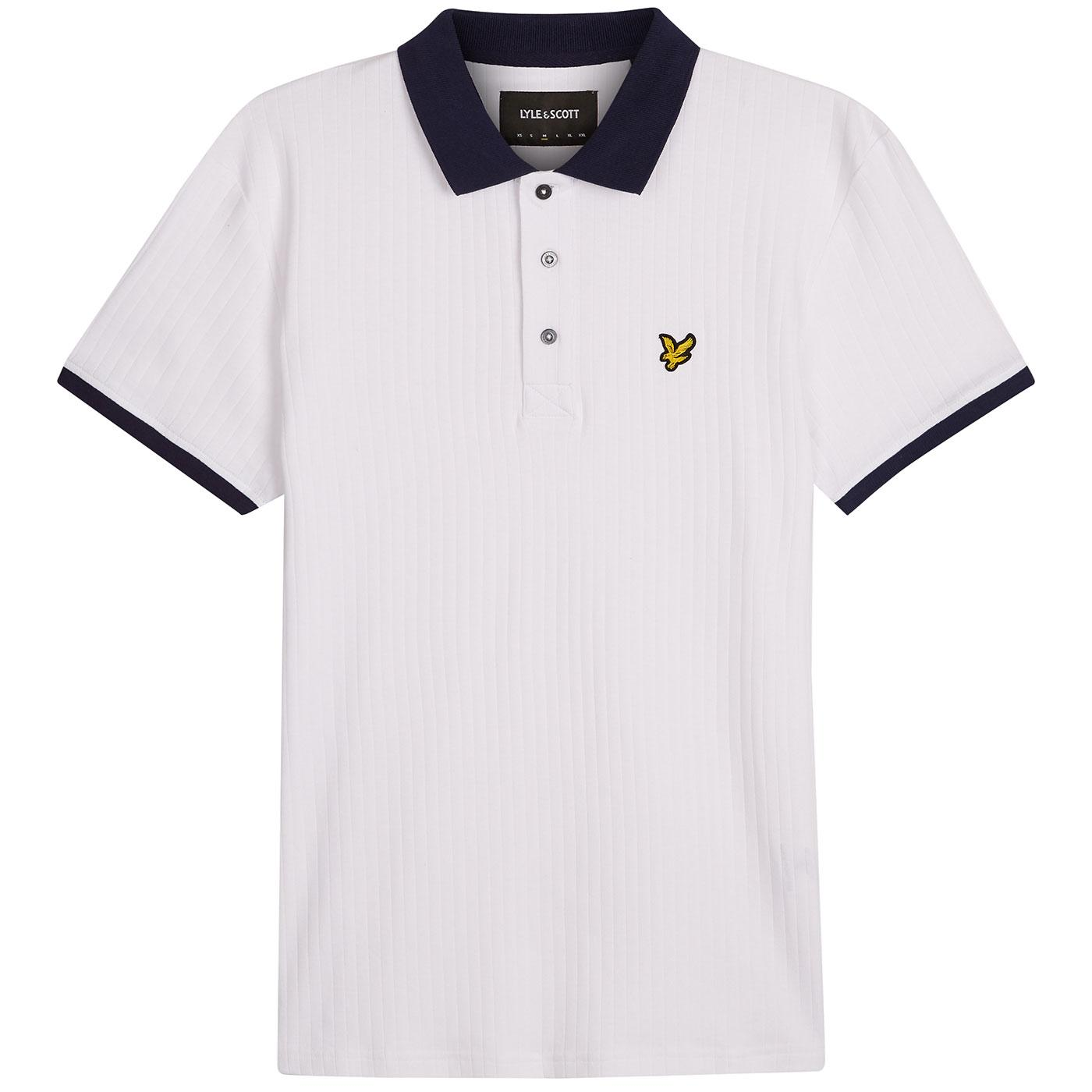 LYLE & SCOTT Slim Stretch Contract Collar Polo N