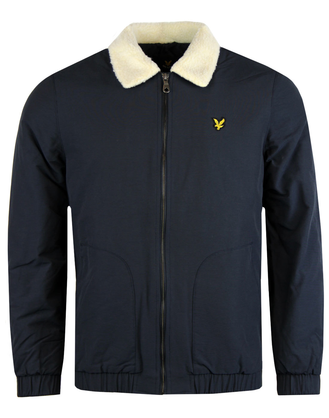 LYLE & SCOTT Retro Shearling Lined Bomber Jacket