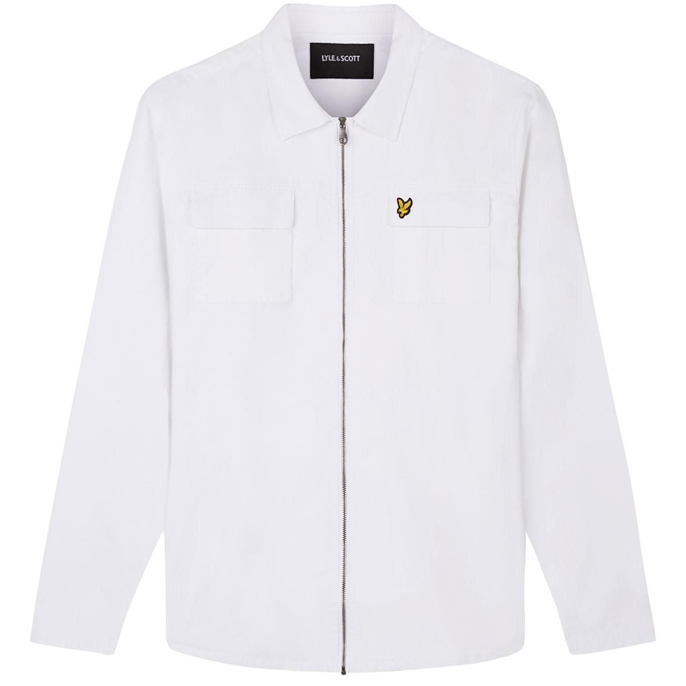 LYLE & SCOTT Retro Mod Denim Summer Overshirt (W)