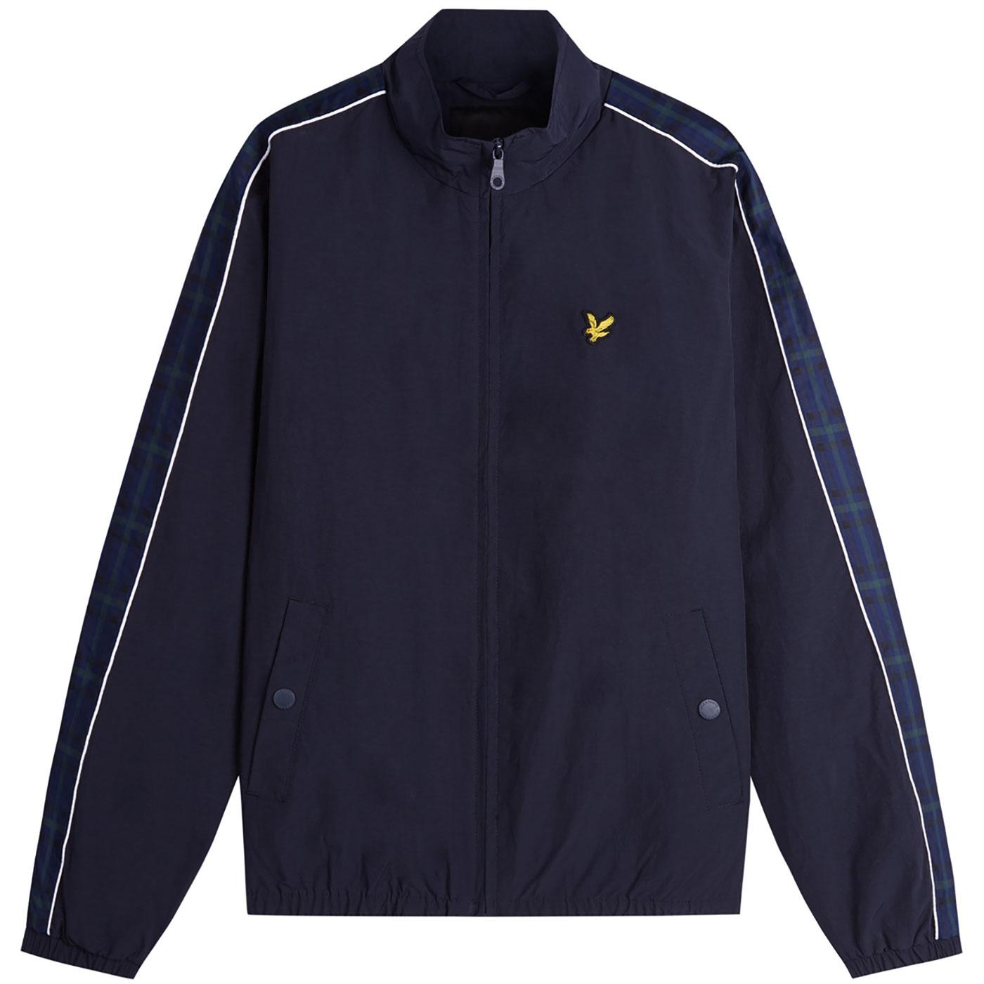 LYLE & SCOTT Taped Sleeve Funnel Neck Jacket DN