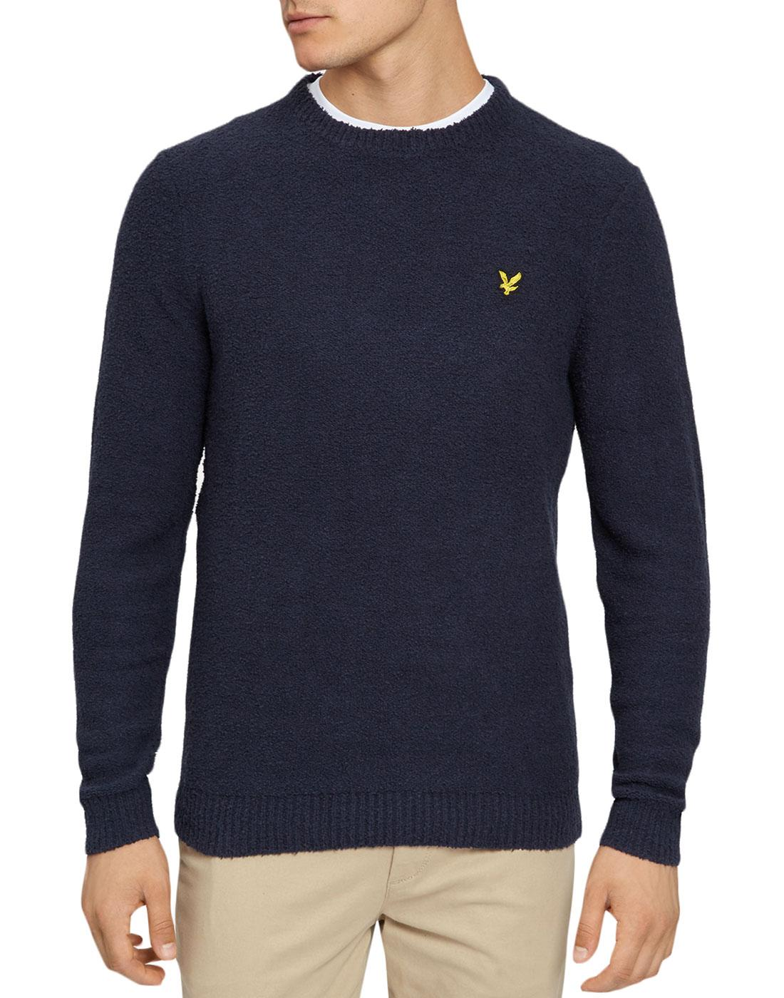 LYLE & SCOTT Retro 70s Terry Towelling Jumper (N)