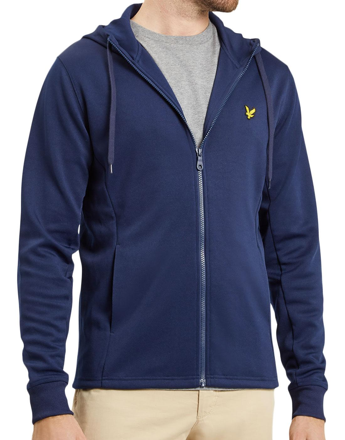 LYLE & SCOTT Retro Hooded Tricot Track Jacket (N)